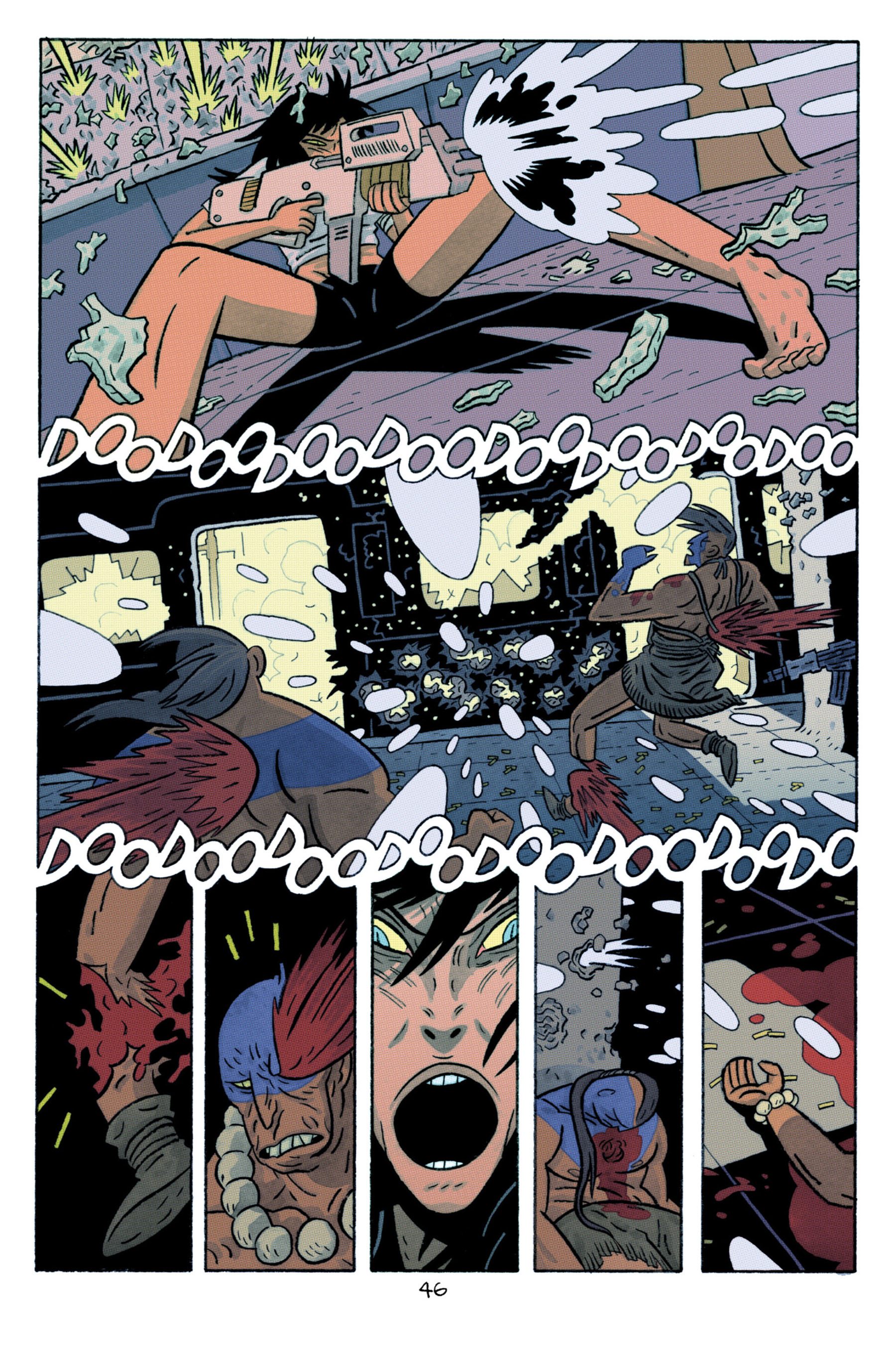 Read online ApocalyptiGirl: An Aria for the End Times comic -  Issue #ApocalyptiGirl: An Aria for the End Times Full - 54