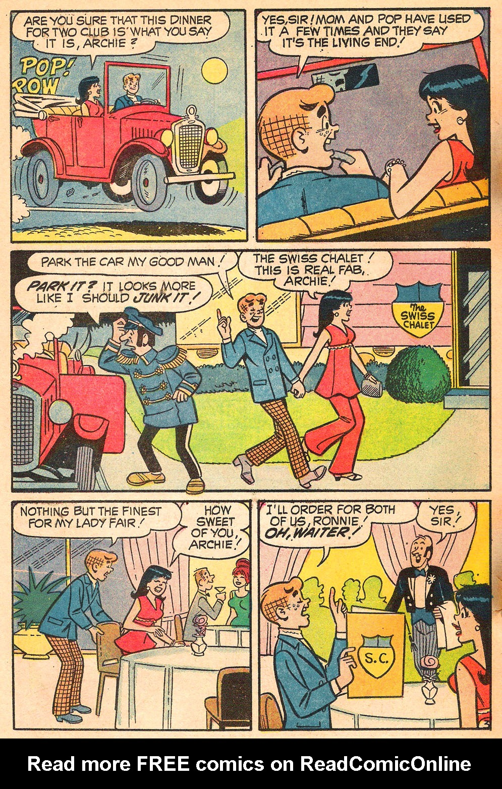 Read online Archie's Girls Betty and Veronica comic -  Issue #185 - 22
