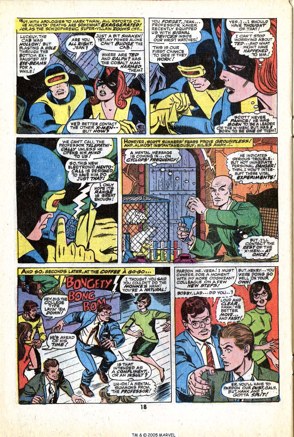 Uncanny X-Men (1963) 79 Page 19