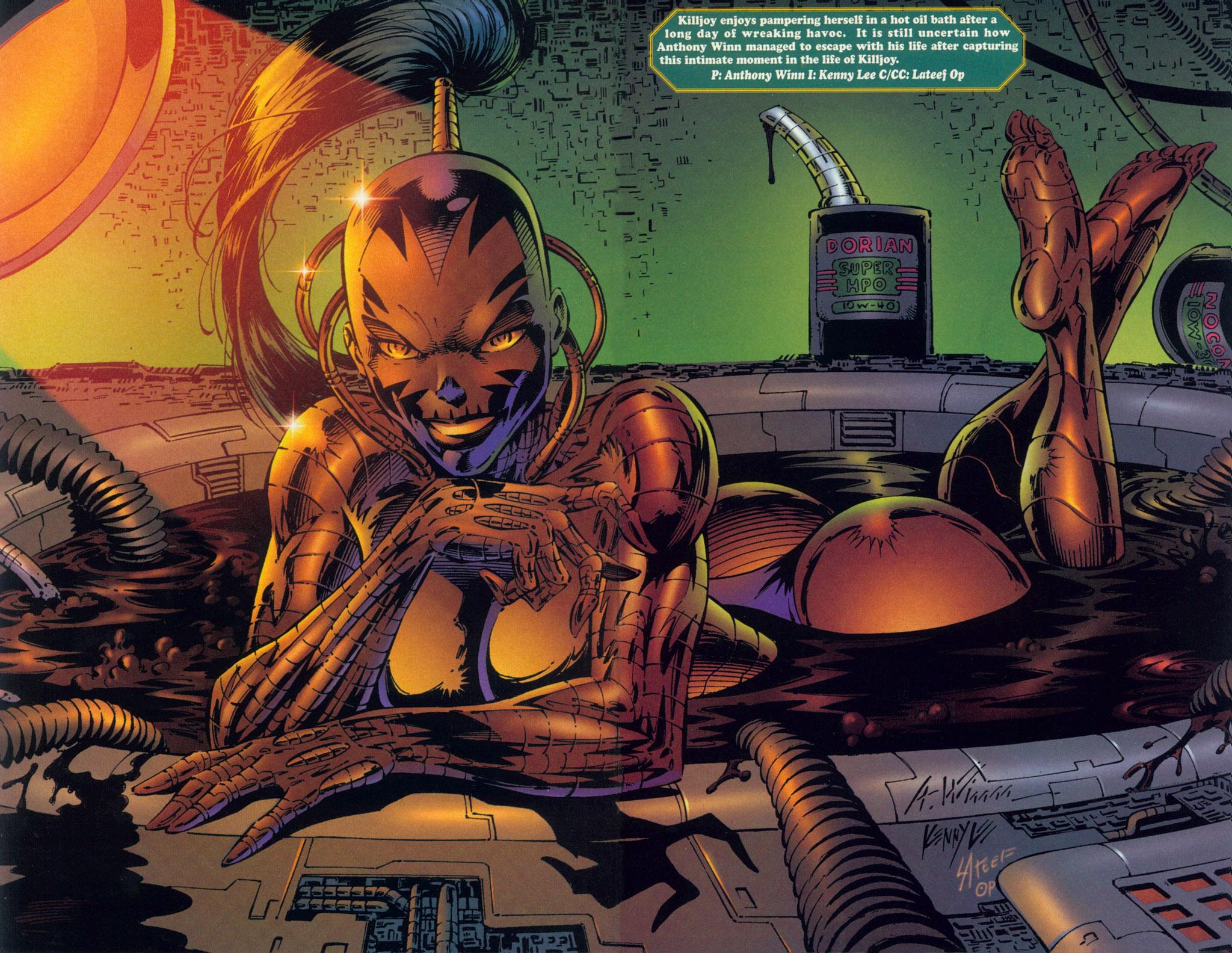Read online Ballistic Studios Swimsuit Special comic -  Issue #1 - 8