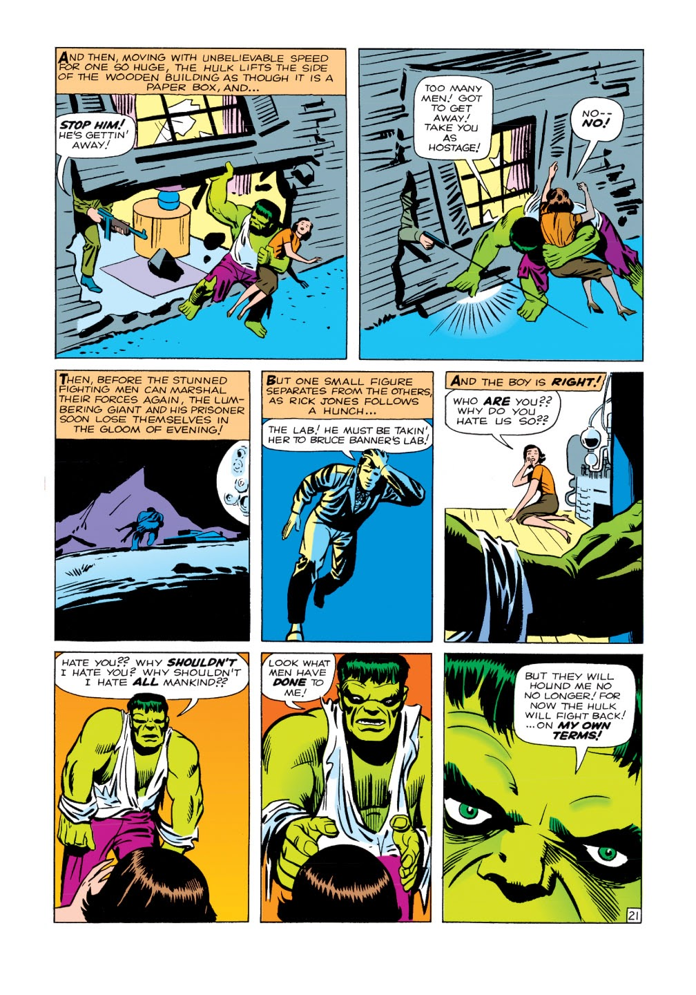 Read online Marvel Masterworks: The Incredible Hulk comic -  Issue # TPB 1 (Part 1) - 49