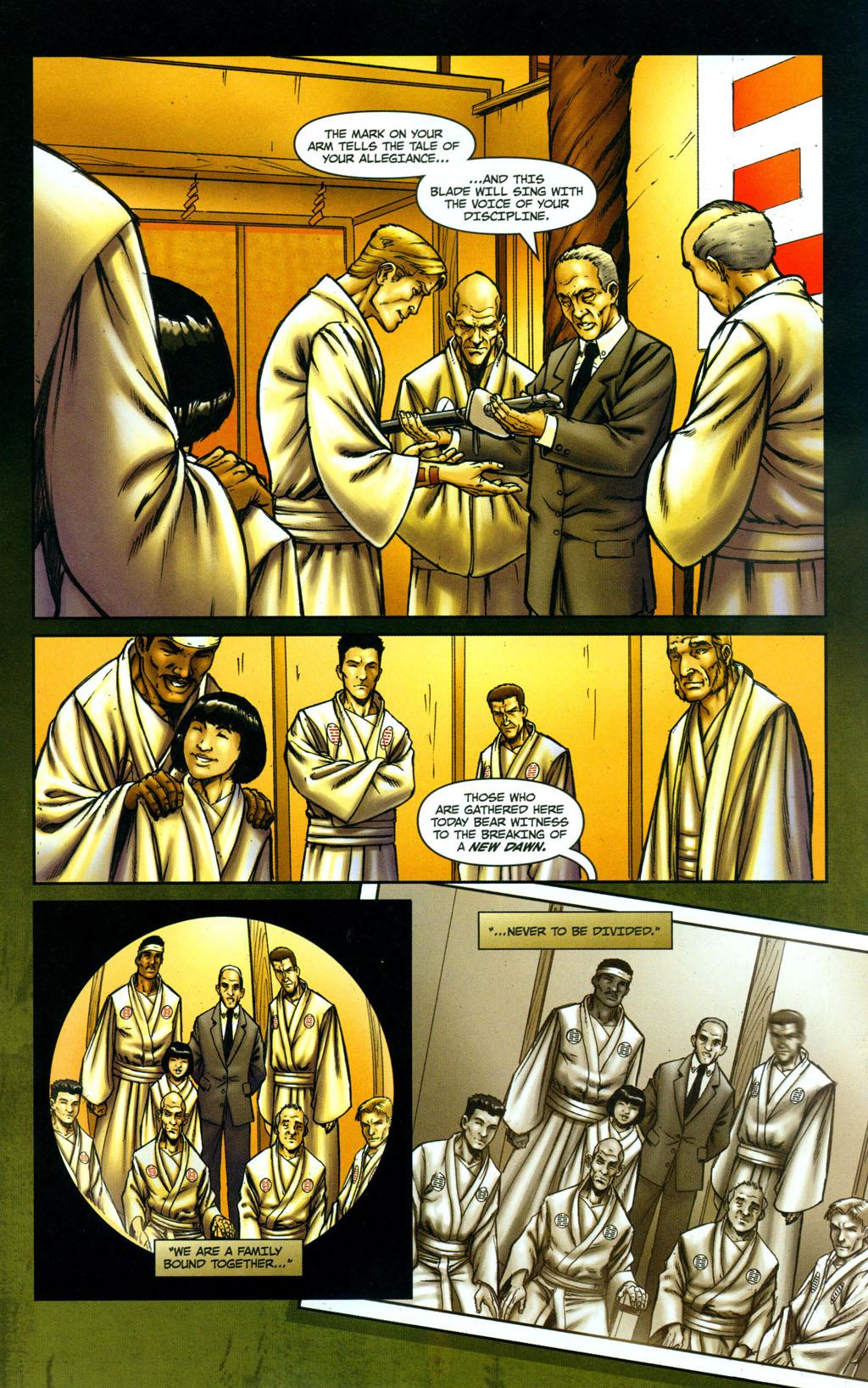 Read online Snake Eyes: Declassified comic -  Issue #5 - 3