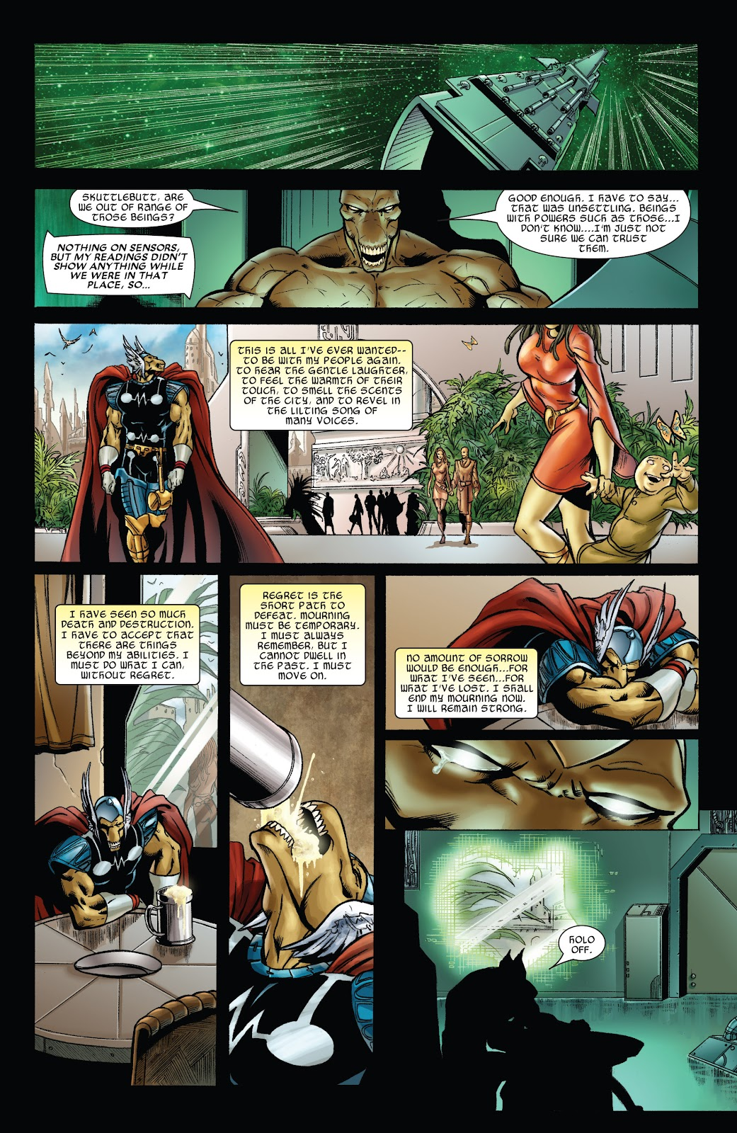 Read online Thor: Ragnaroks comic -  Issue # TPB (Part 4) - 56