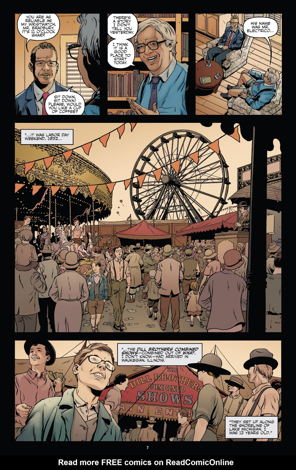 Read online Shadow Show: Stories in Celebration of Ray Bradbury comic -  Issue #3 - 9