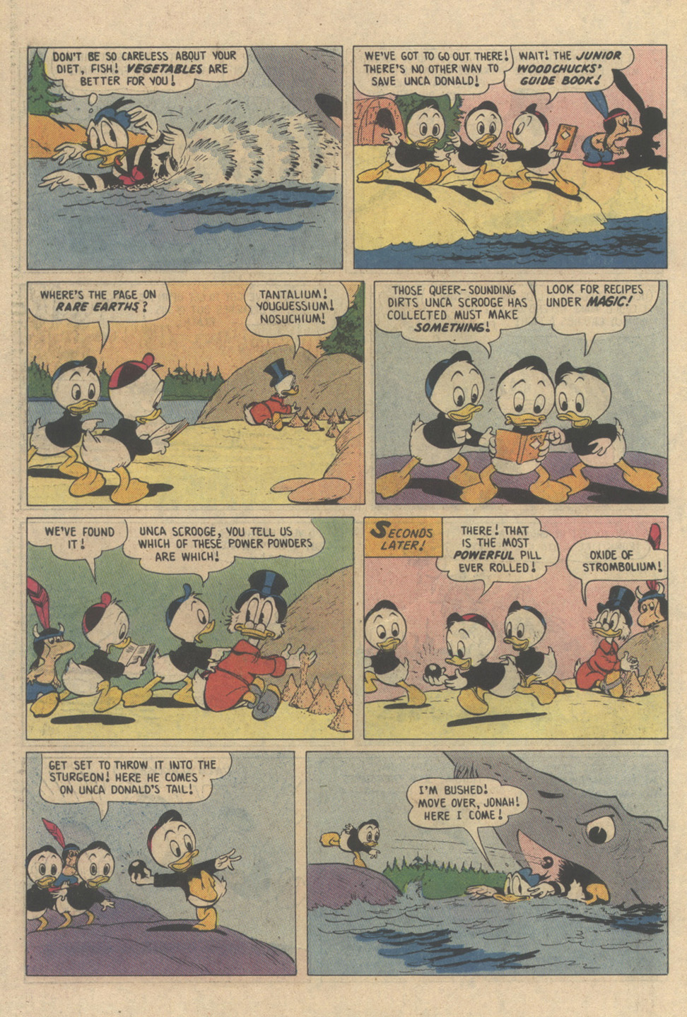 Read online Uncle Scrooge (1953) comic -  Issue #208 - 26