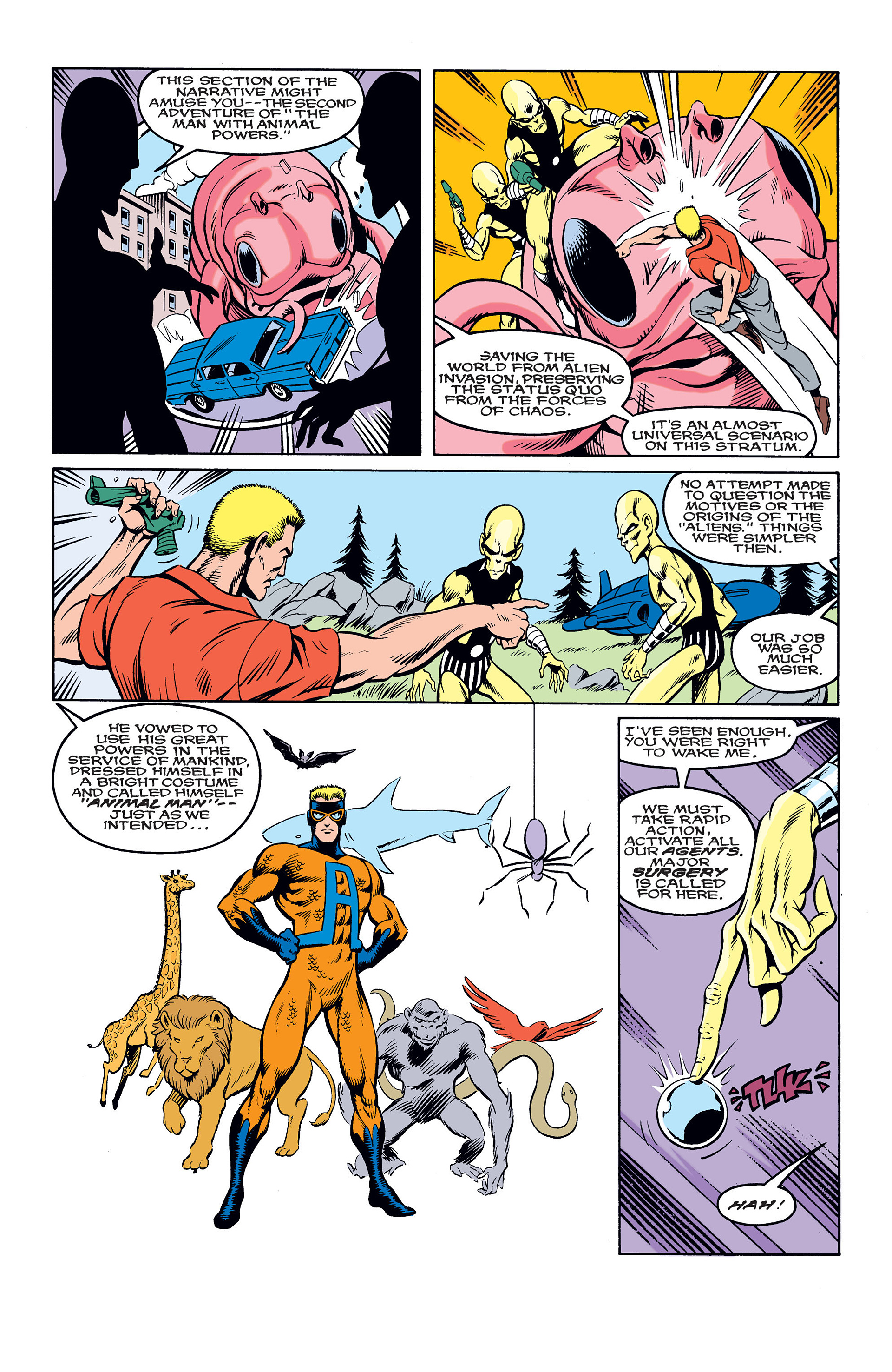 Read online Animal Man (1988) comic -  Issue #10 - 19