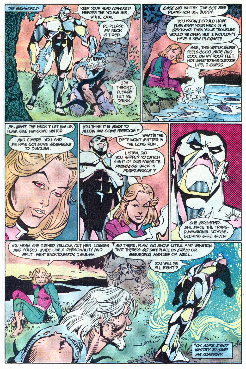Read online Amethyst (1985) comic -  Issue #16 - 19
