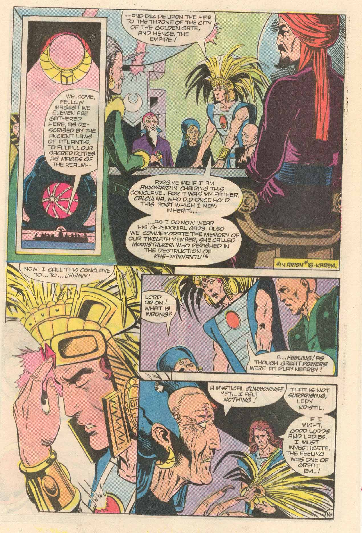 Read online Arion, Lord of Atlantis comic -  Issue #34 - 17