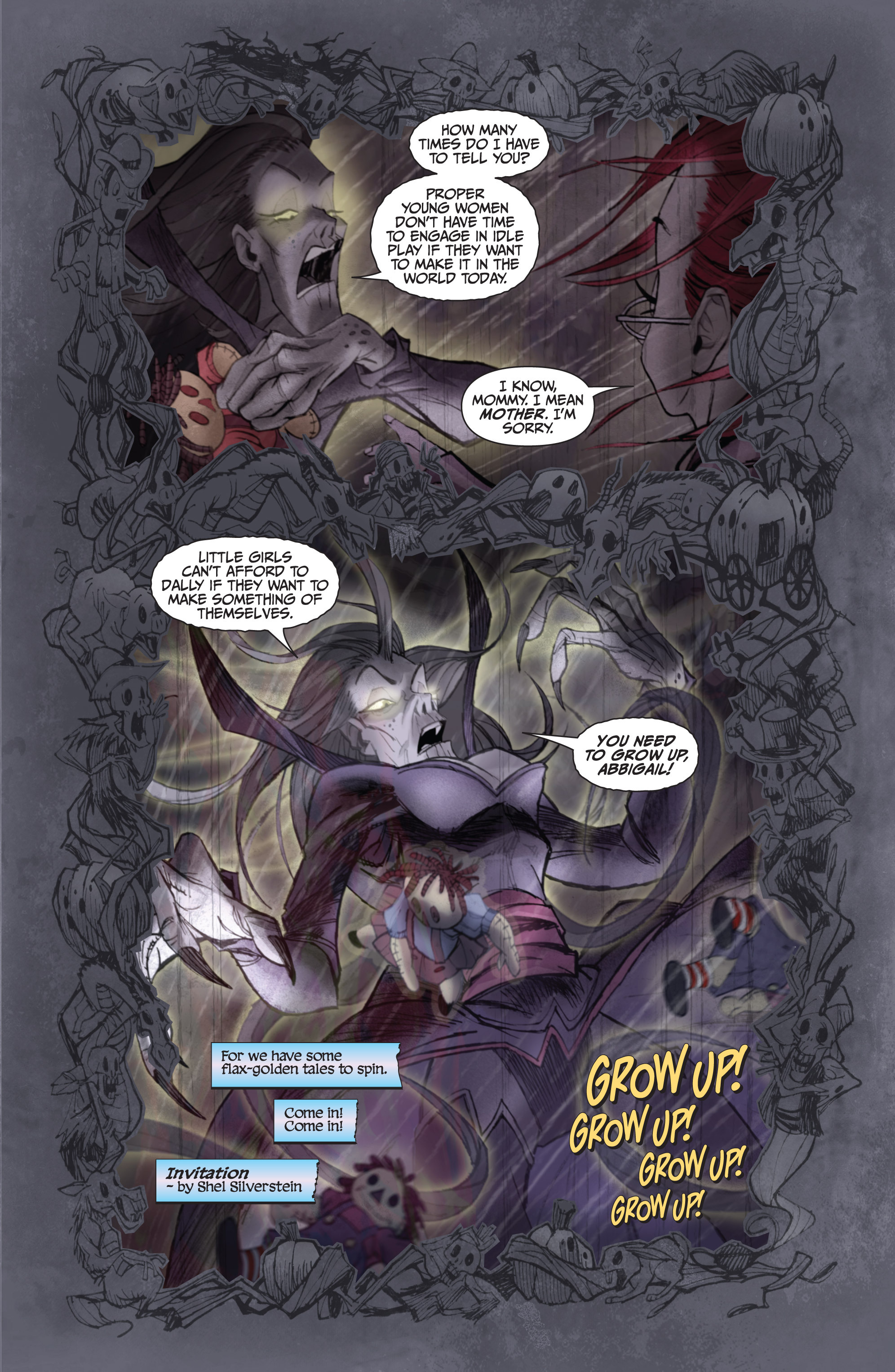 Read online Legendary Talespinners comic -  Issue #1 - 6