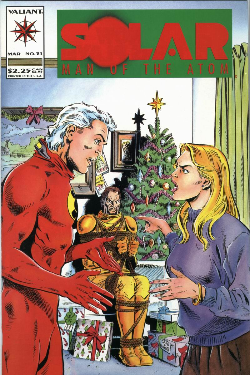 Read online Solar, Man of the Atom comic -  Issue #31 - 1