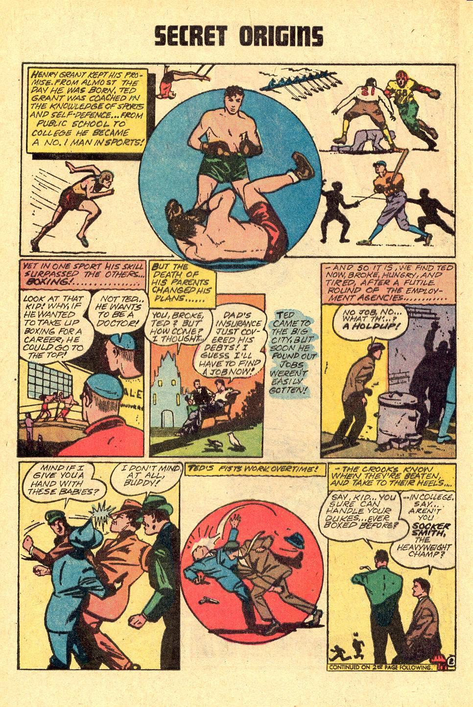 Read online Secret Origins (1973) comic -  Issue #3 - 23