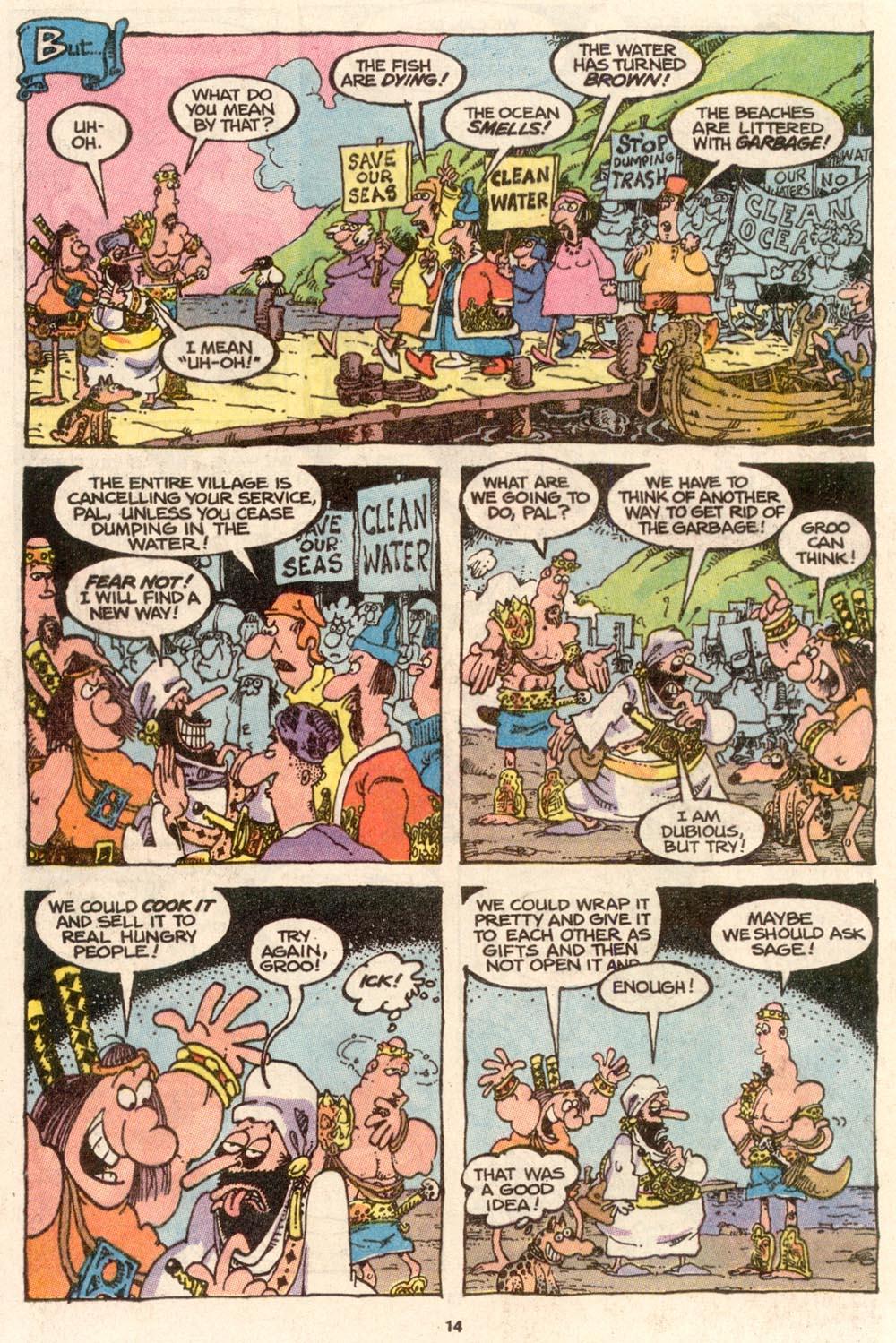 Read online Sergio Aragonés Groo the Wanderer comic -  Issue #65 - 14