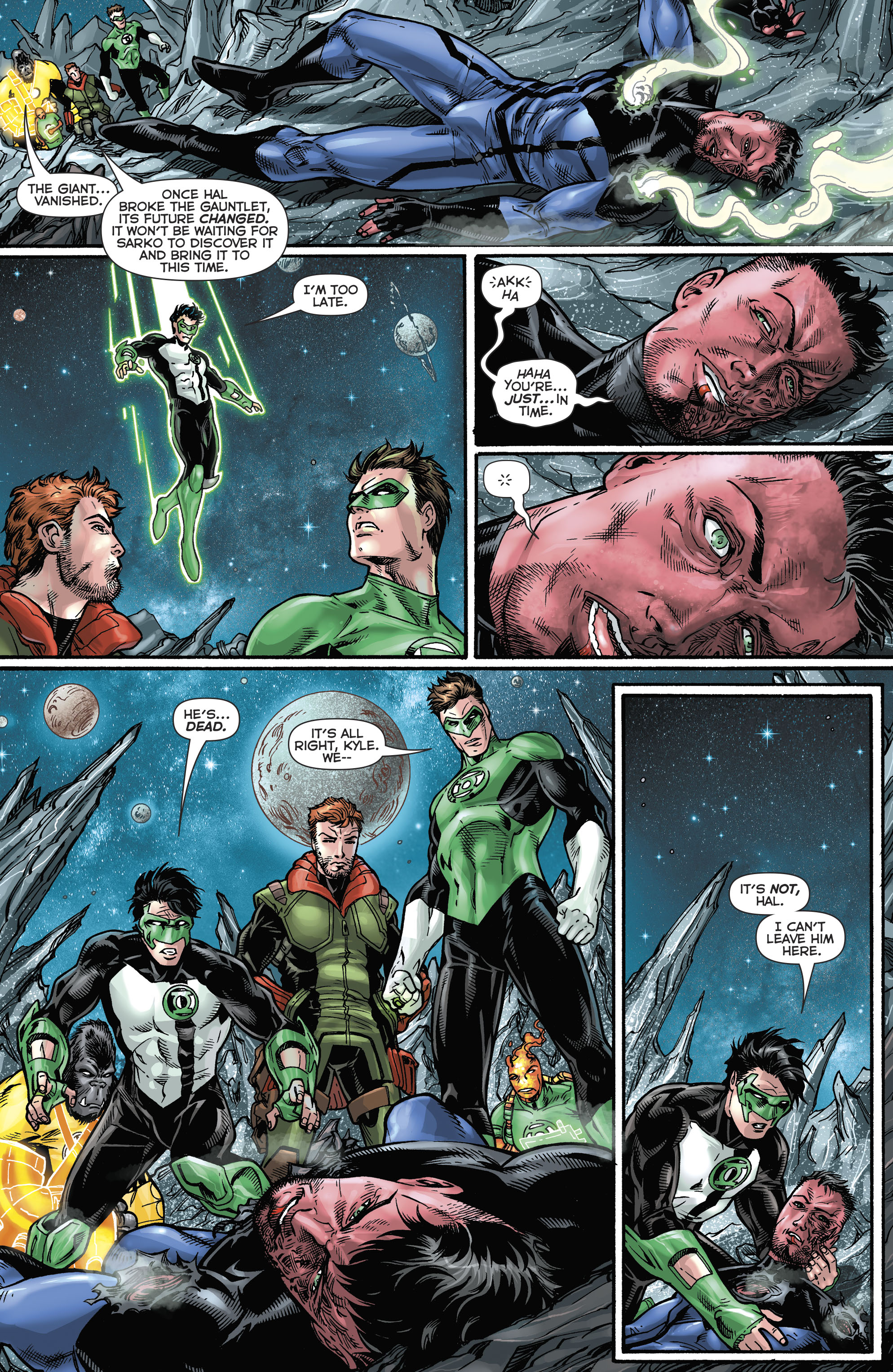 Read online Hal Jordan And The Green Lantern Corps comic -  Issue #21 - 20