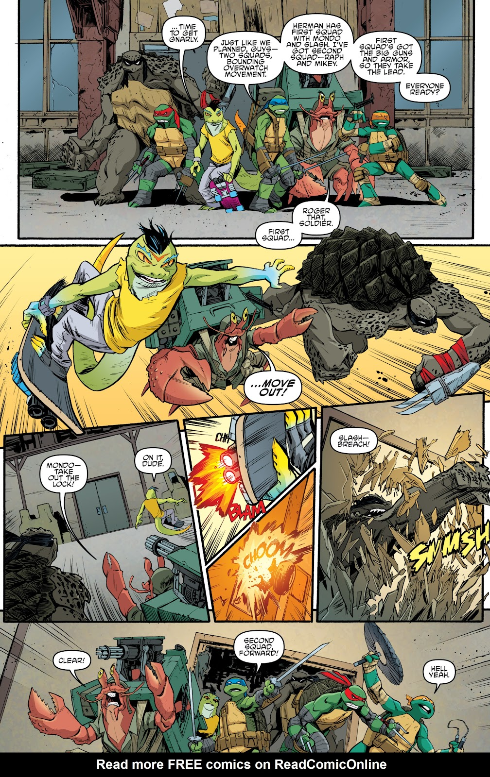 Read online Teenage Mutant Ninja Turtles: The IDW Collection comic -  Issue # TPB 5 (Part 3) - 71
