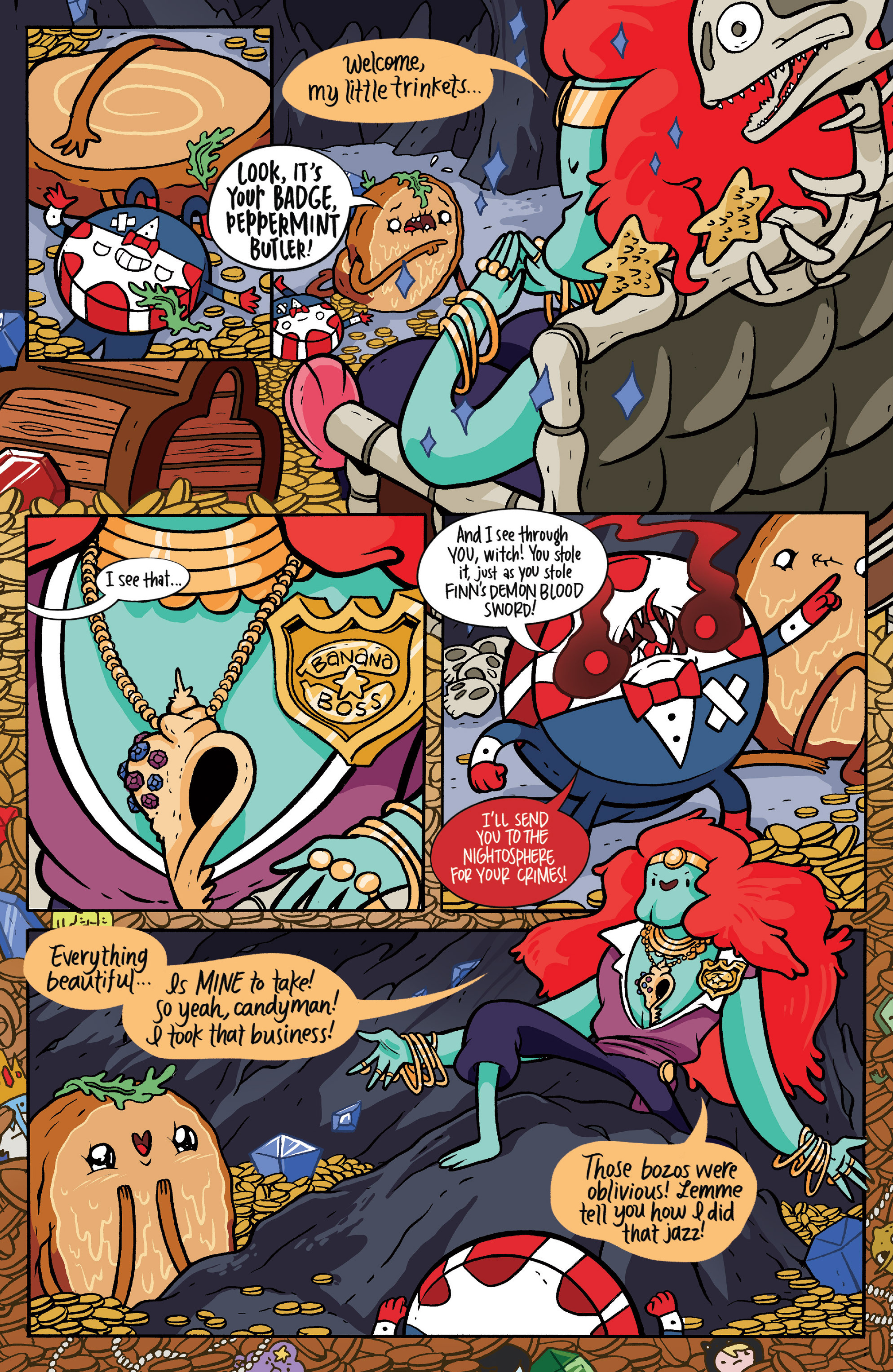 Read online Adventure Time: Candy Capers comic -  Issue #5 - 14