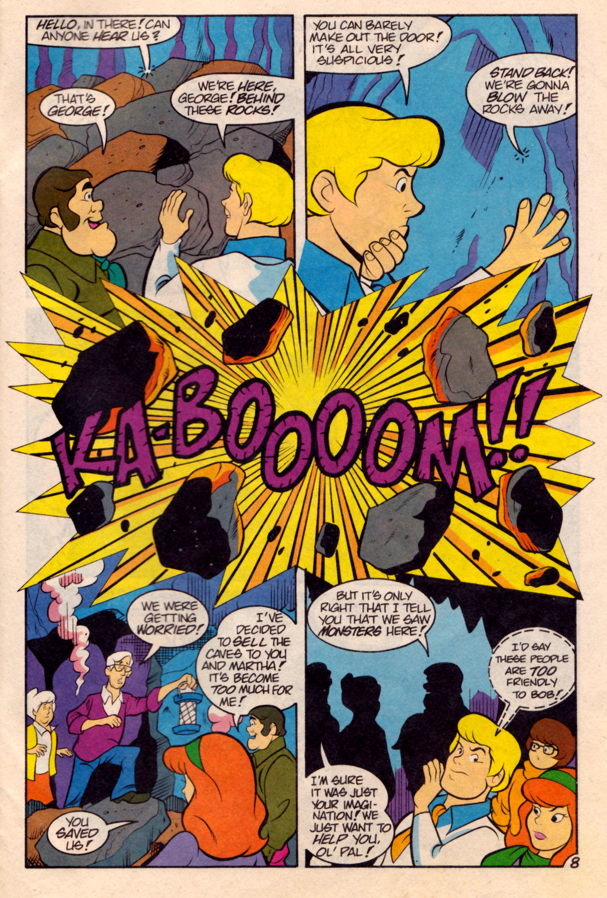 Read online Scooby-Doo (1995) comic -  Issue #18 - 25