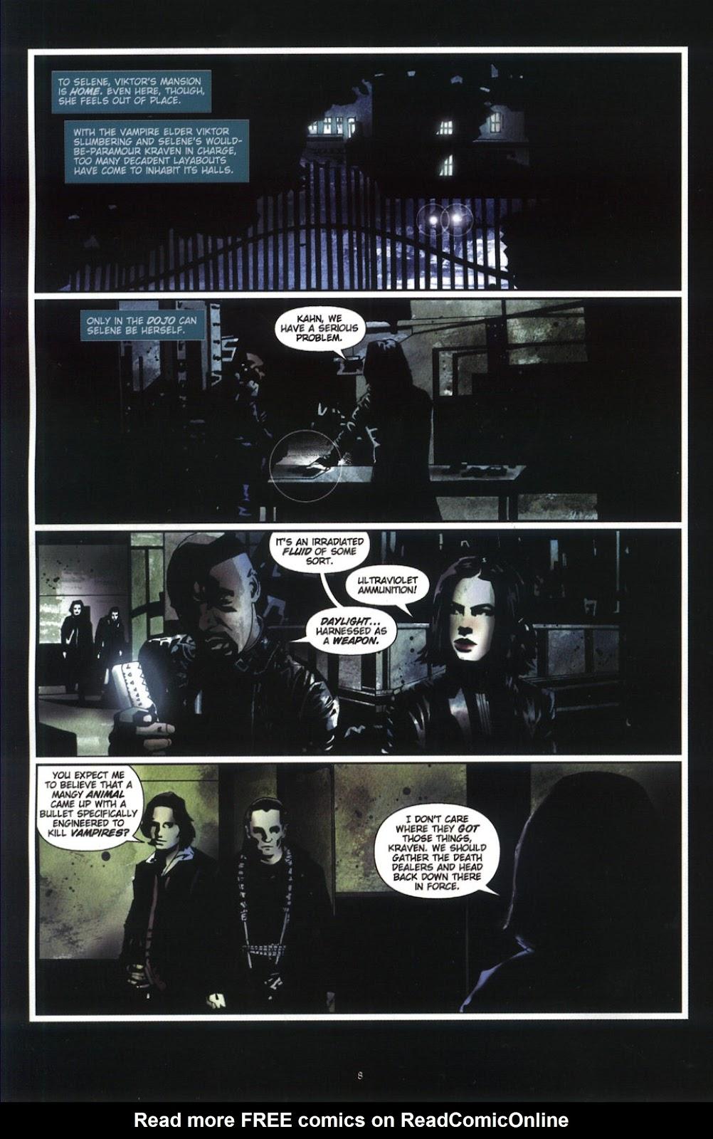 Read online Underworld (2003) comic -  Issue # Full - 10