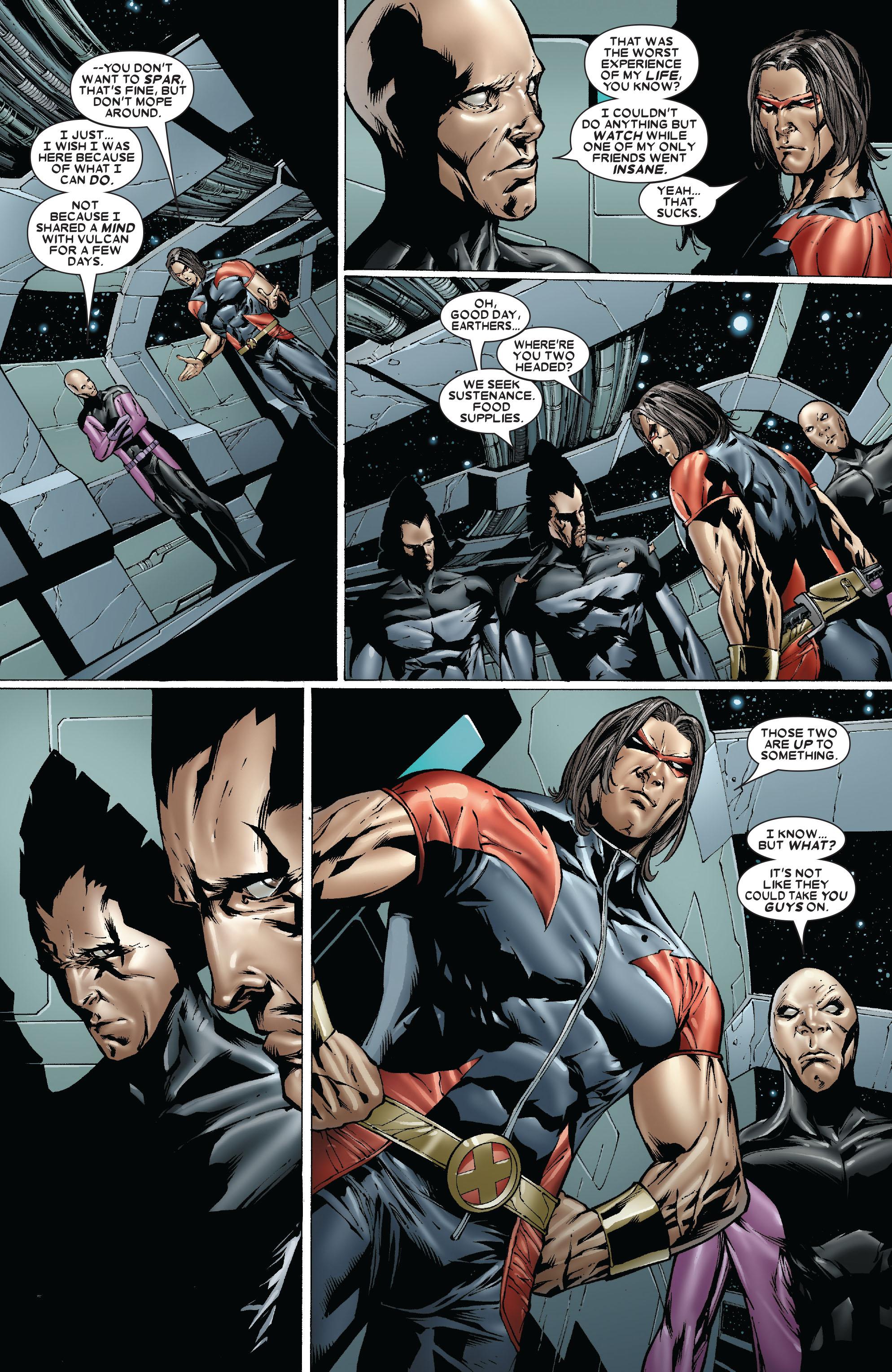 Read online Uncanny X-Men (1963) comic -  Issue #479 - 10
