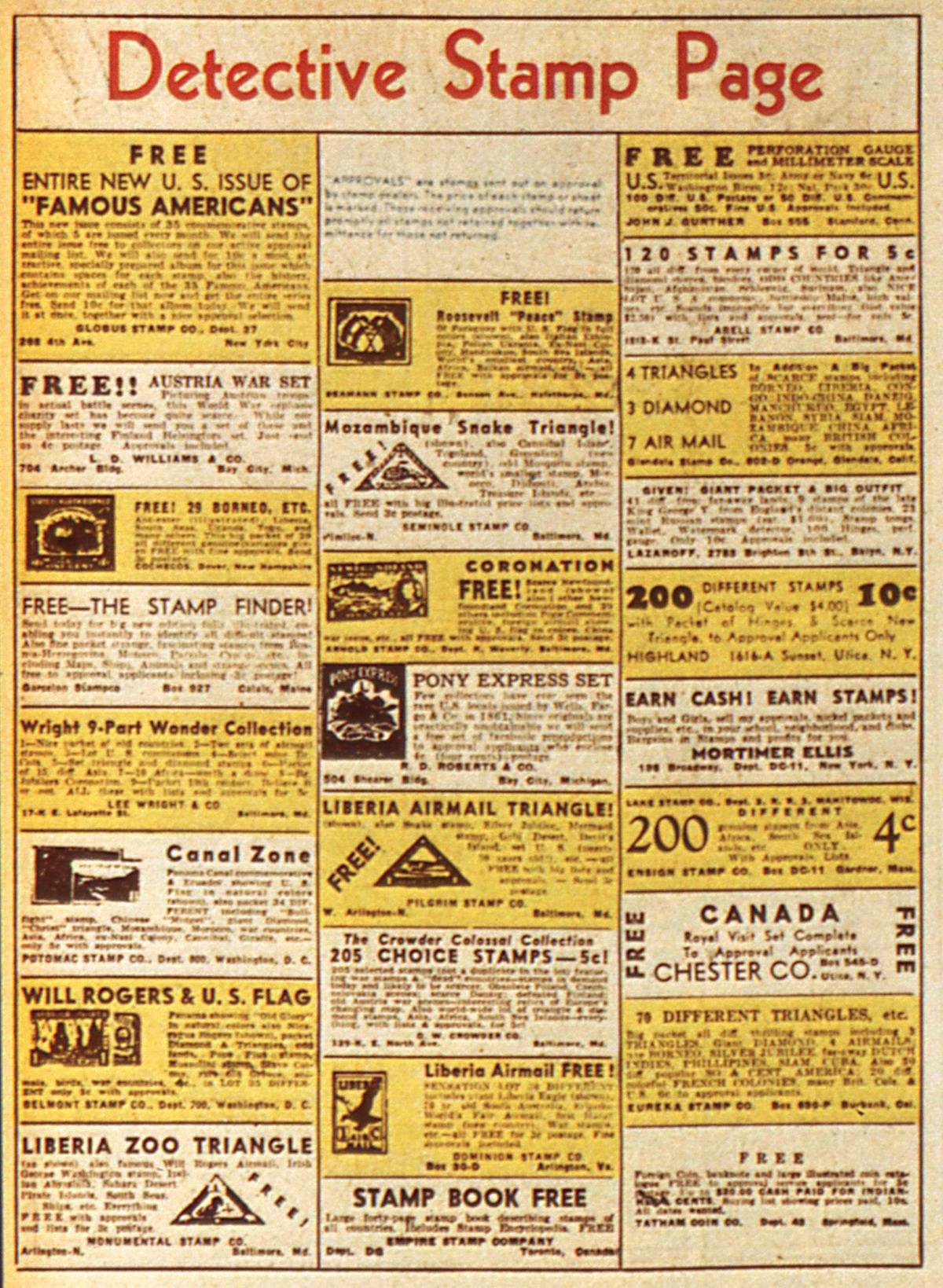 Read online Detective Comics (1937) comic -  Issue #45 - 50