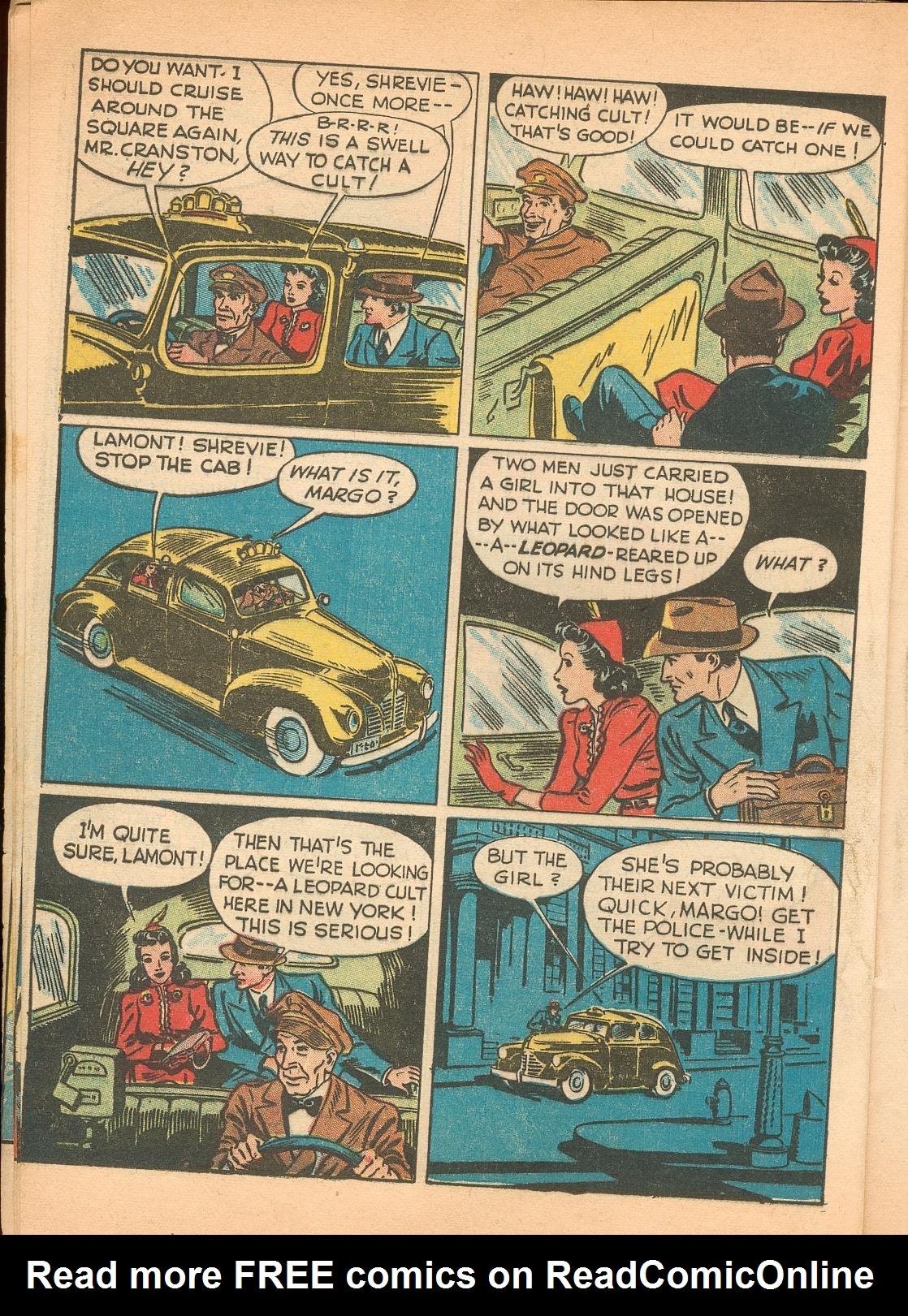 Read online Shadow Comics comic -  Issue #11 - 12