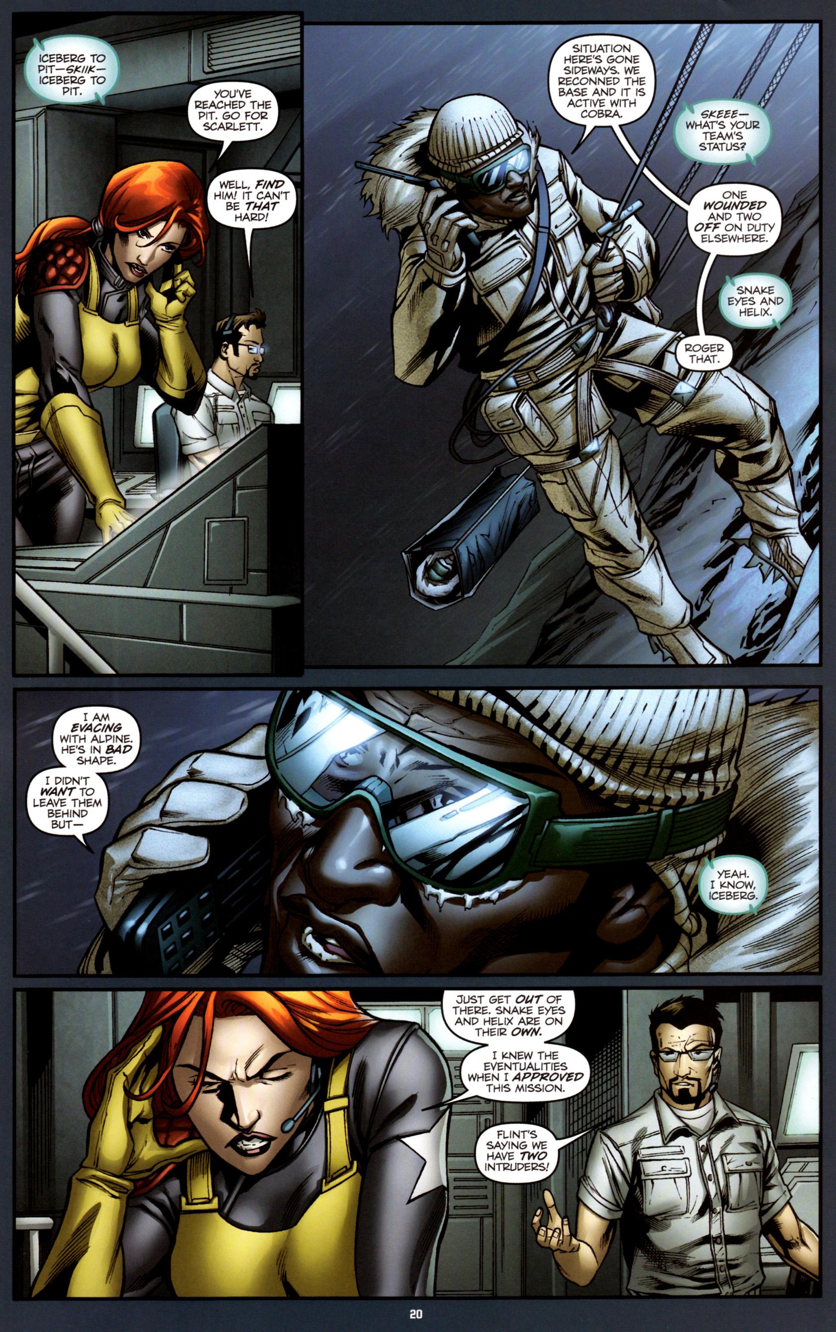 Read online G.I. Joe: Snake Eyes comic -  Issue #3 - 23