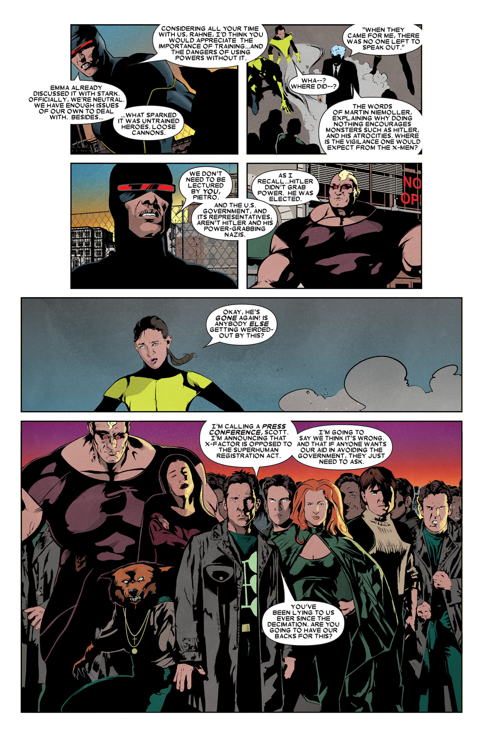 Read online X-Factor (2006) comic -  Issue #9 - 22