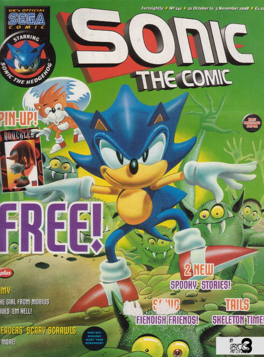 Read online Sonic the Comic comic -  Issue #141 - 1