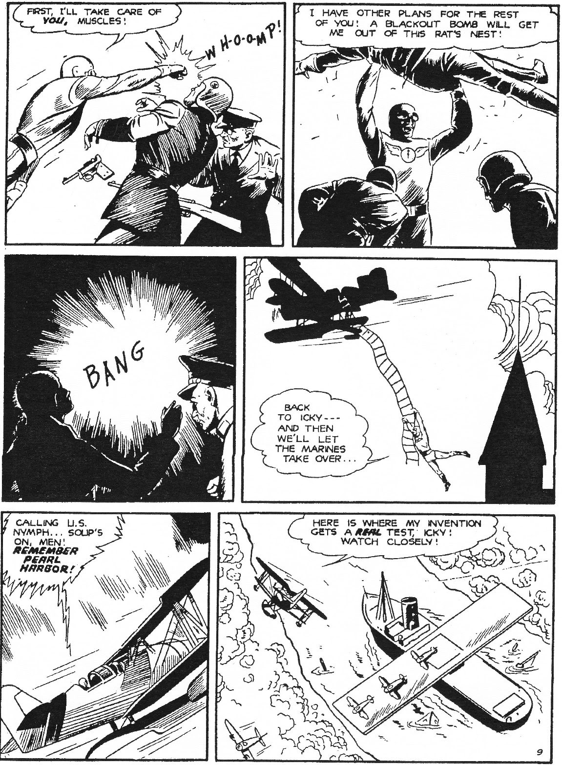 Captain Midnight (1942) issue 11 - Page 20