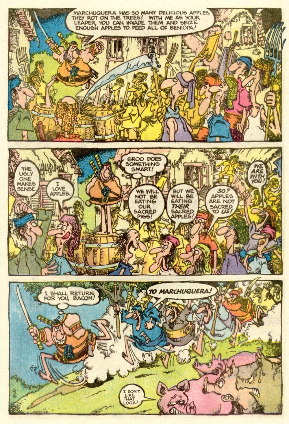 Read online Sergio Aragonés Groo the Wanderer comic -  Issue #9 - 15
