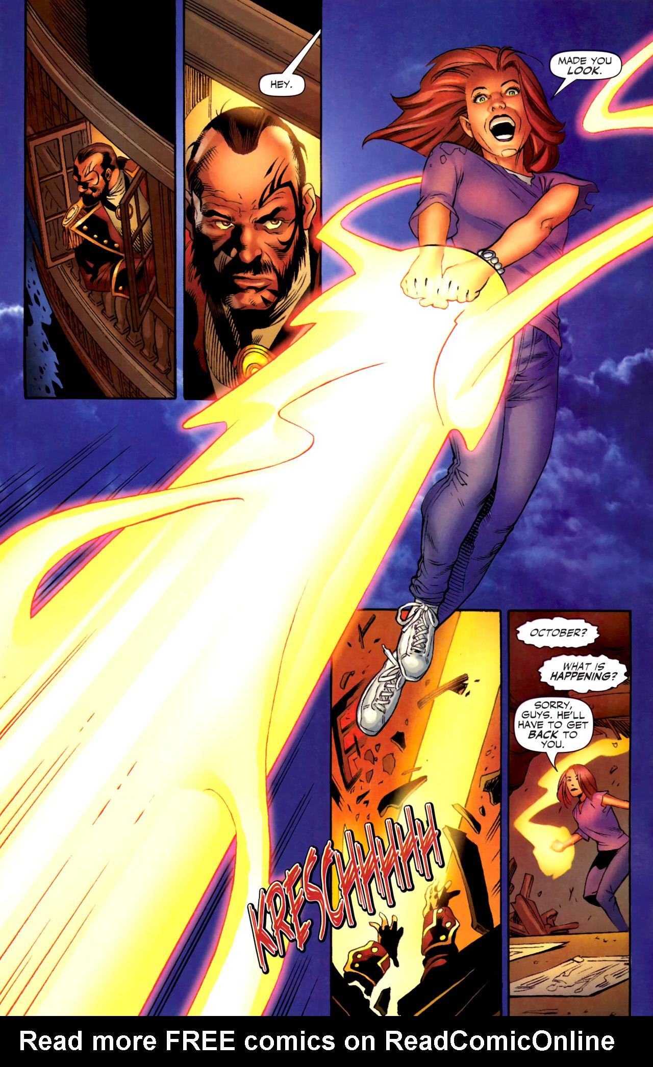 Read online Sigil (2011) comic -  Issue #3 - 9