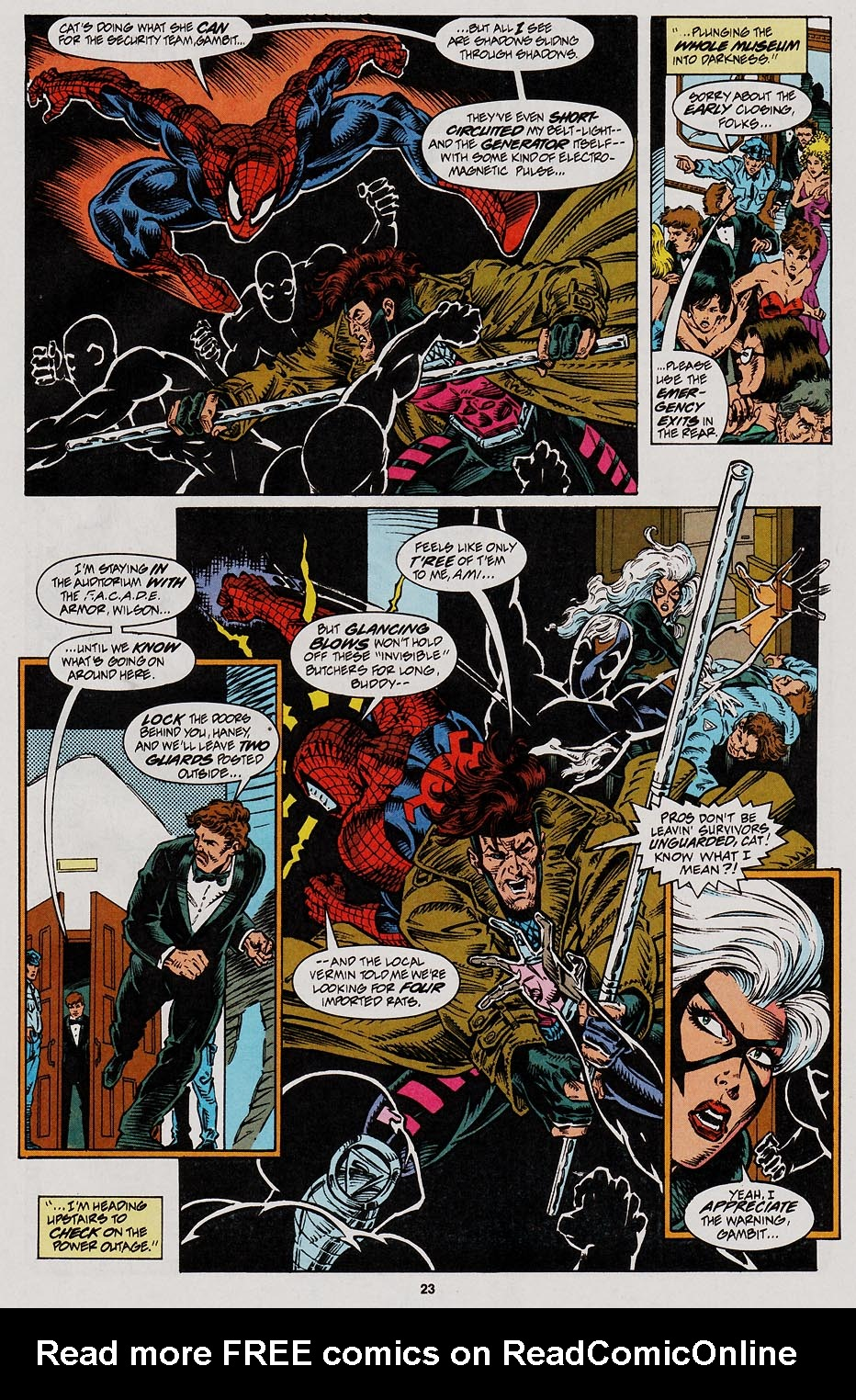 Web of Spider-Man (1985) Issue #113 #123 - English 19