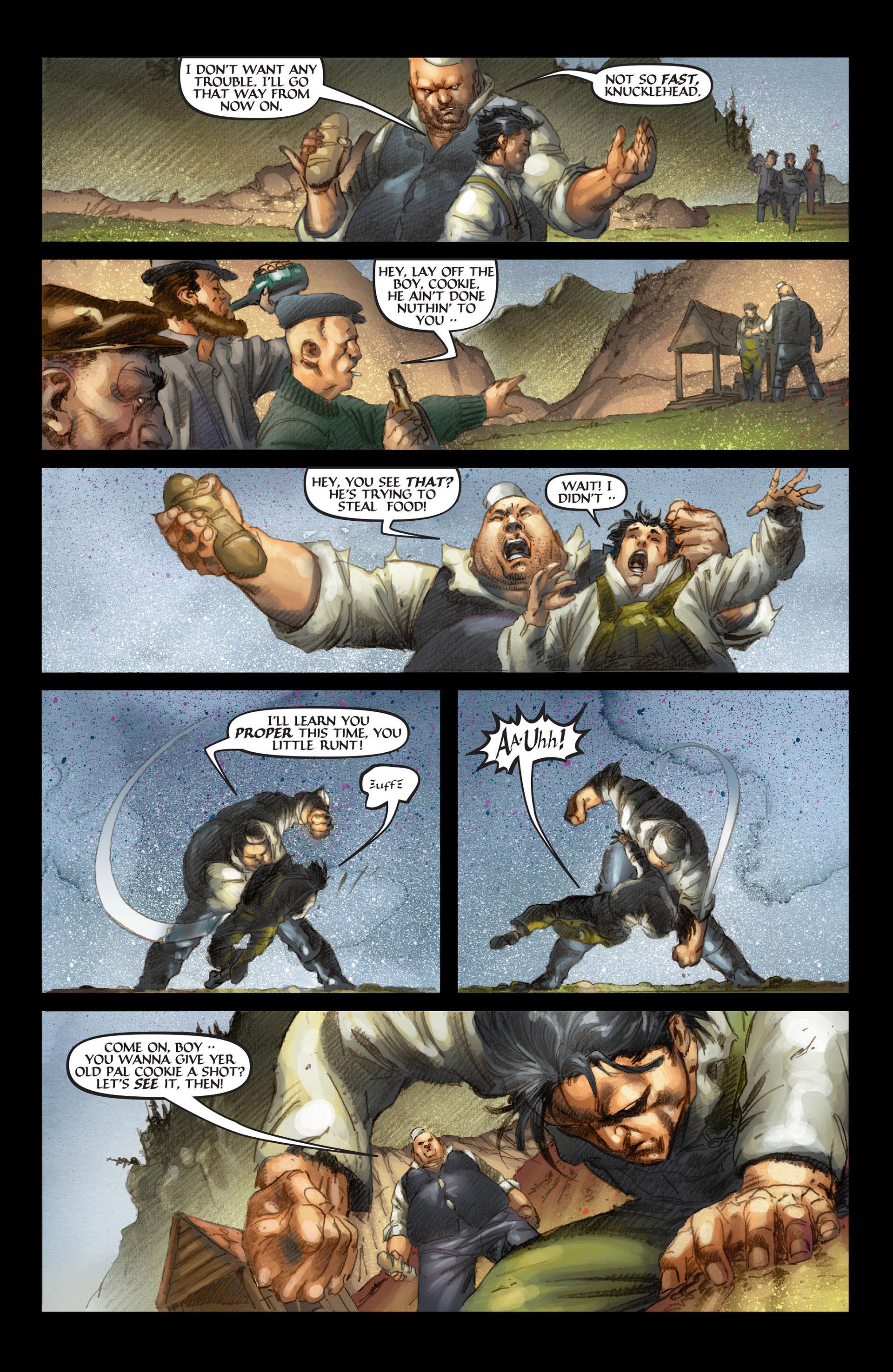 Read online Wolverine: The Origin comic -  Issue #4 - 21