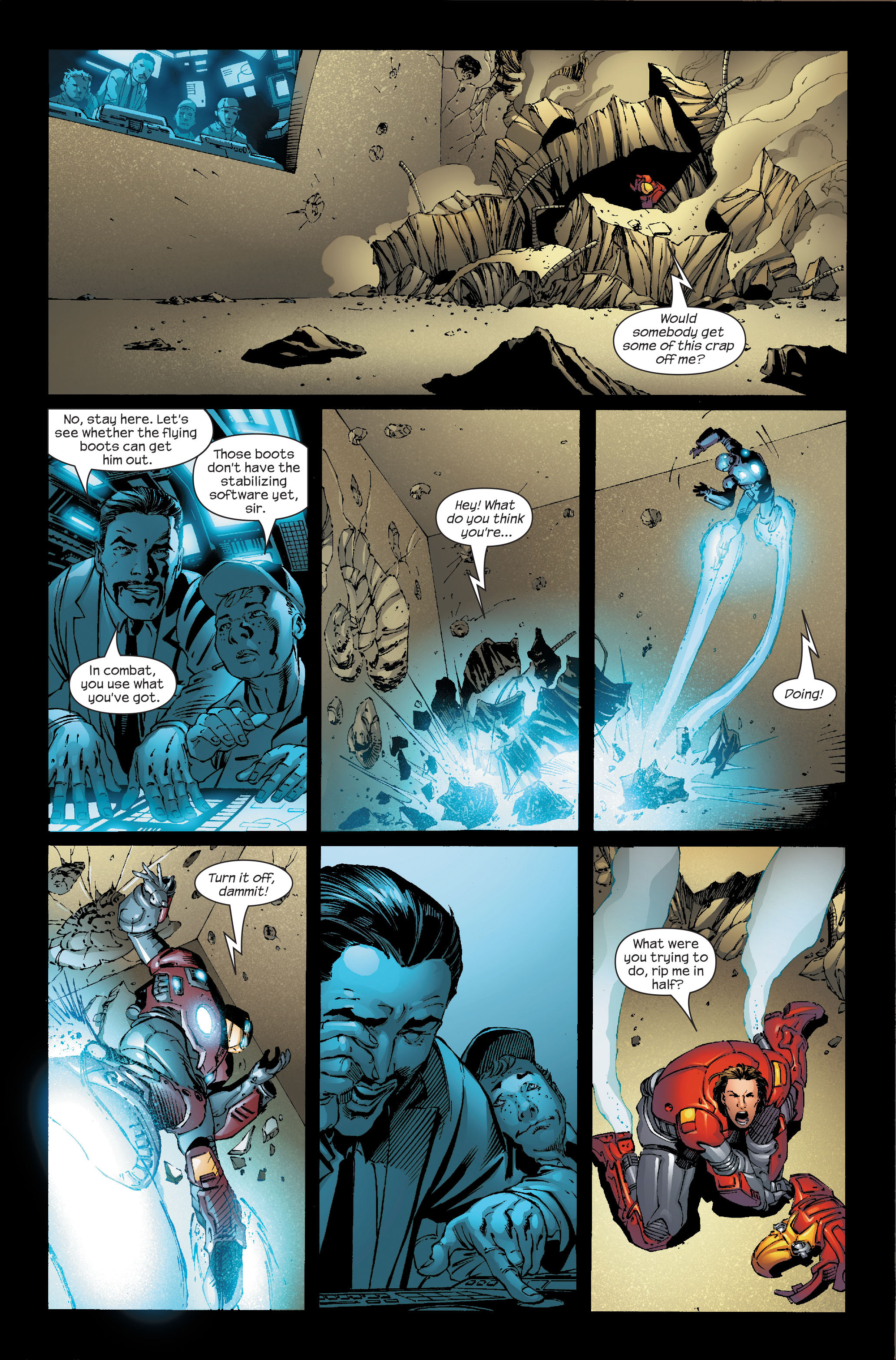 Read online Ultimate Iron Man (2005) comic -  Issue #5 - 6