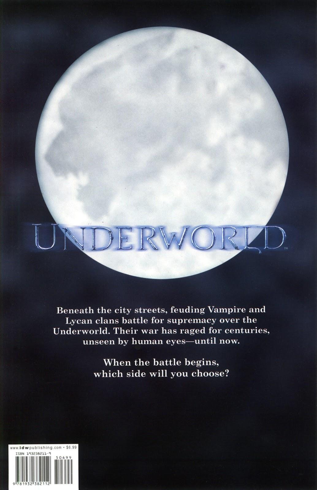 Read online Underworld (2003) comic -  Issue # Full - 51