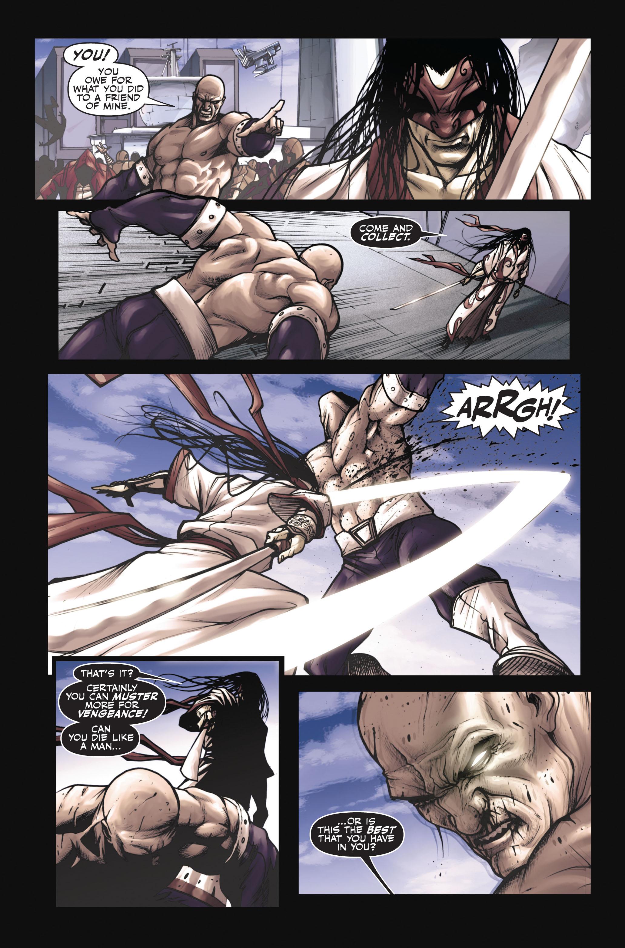 Read online Secret Warriors comic -  Issue #6 - 8