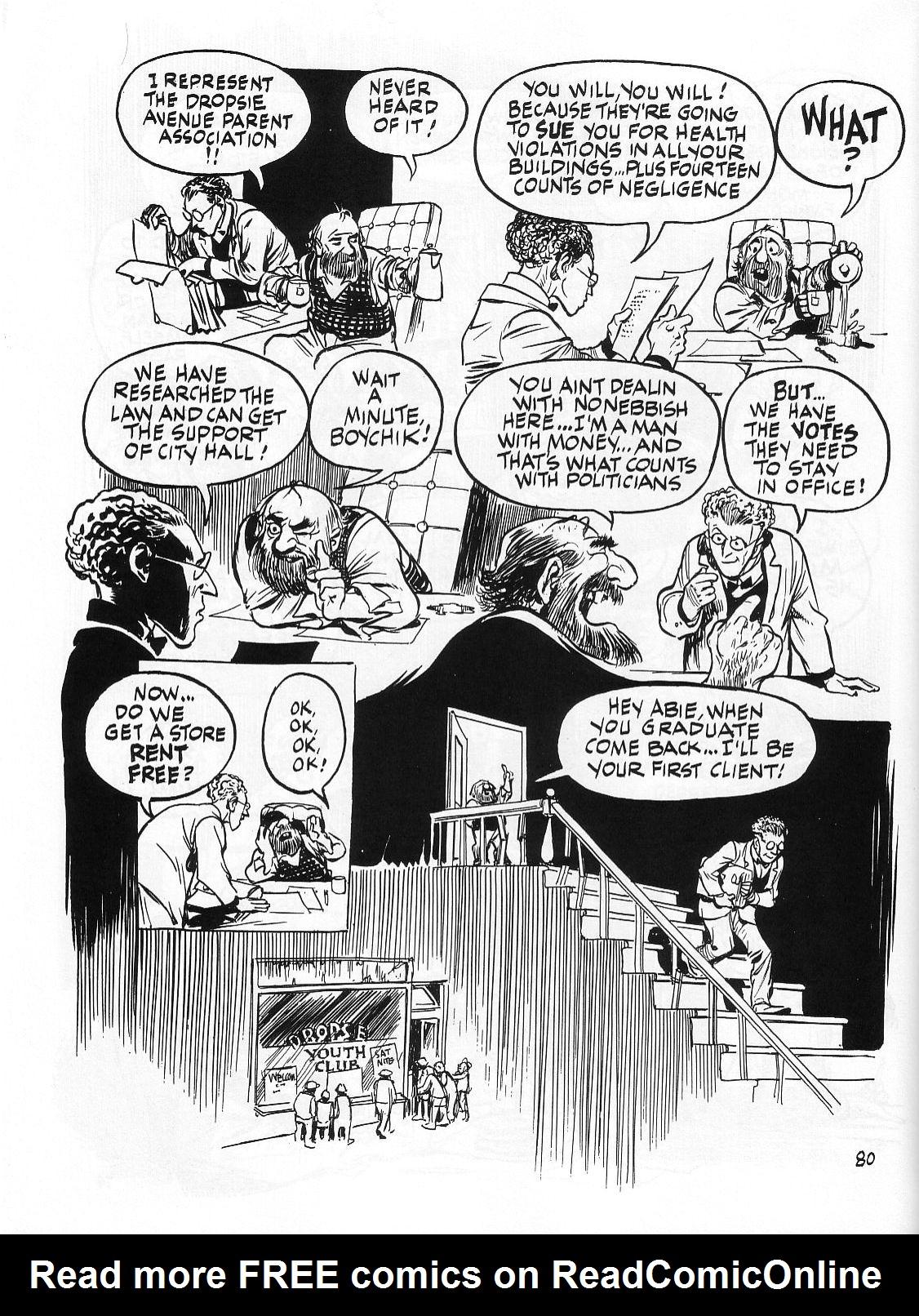 Read online Dropsie Avenue, The Neighborhood comic -  Issue # Full - 82
