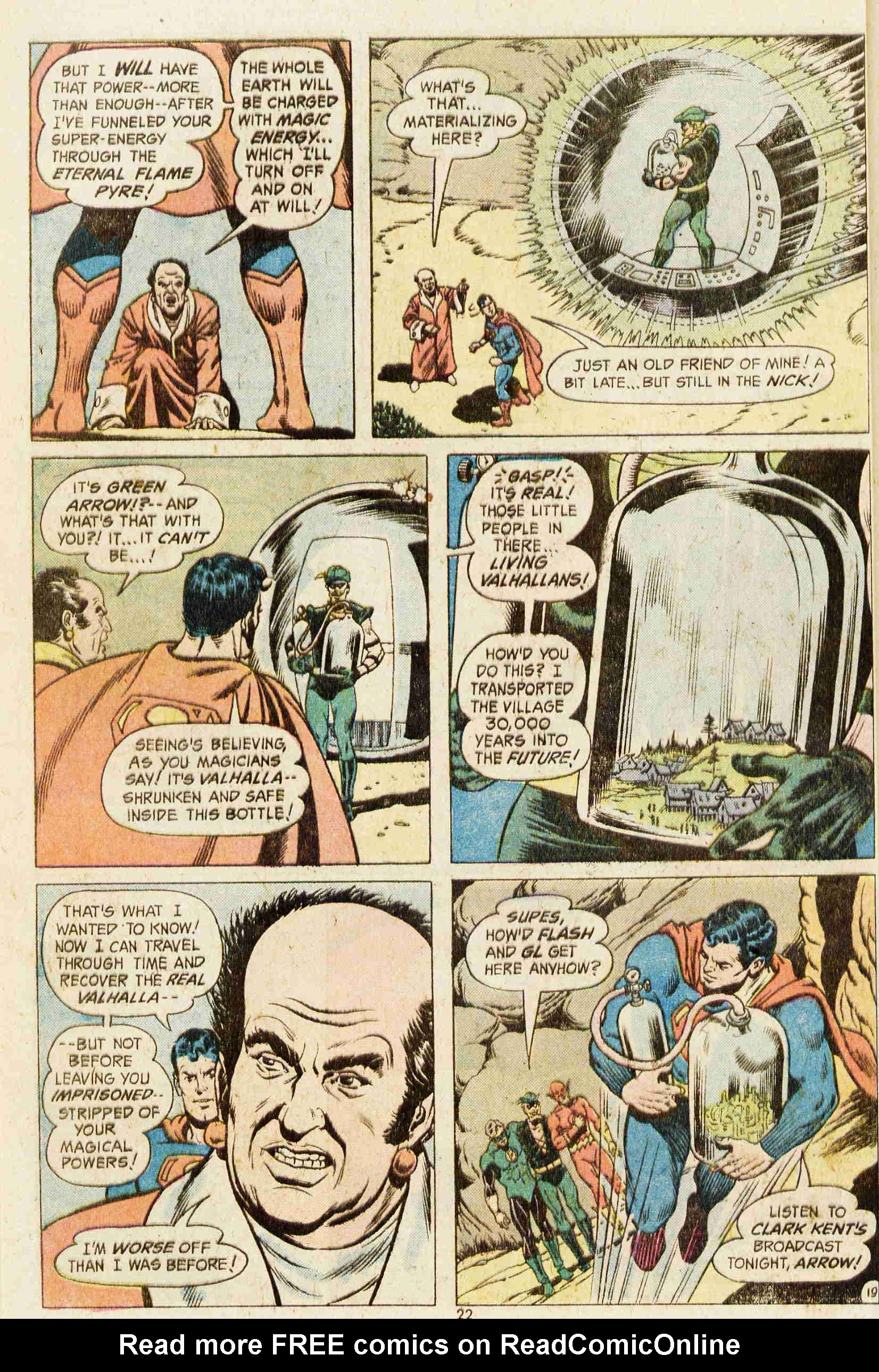 Read online Action Comics (1938) comic -  Issue #437 - 21