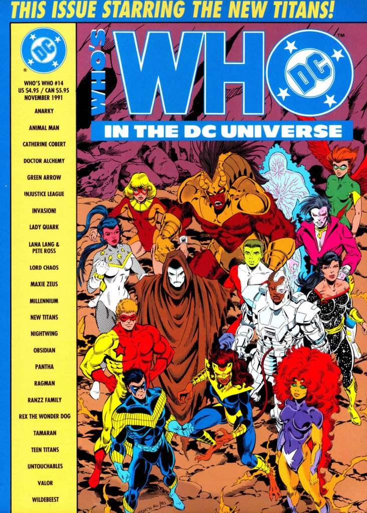 Whos Who in the DC Universe 14 Page 1