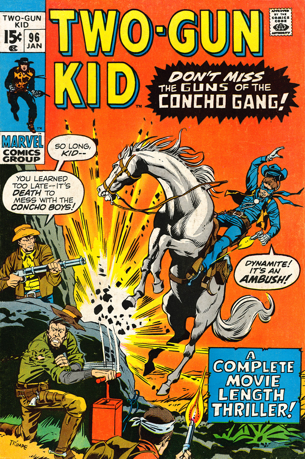 Read online Two-Gun Kid comic -  Issue #96 - 1