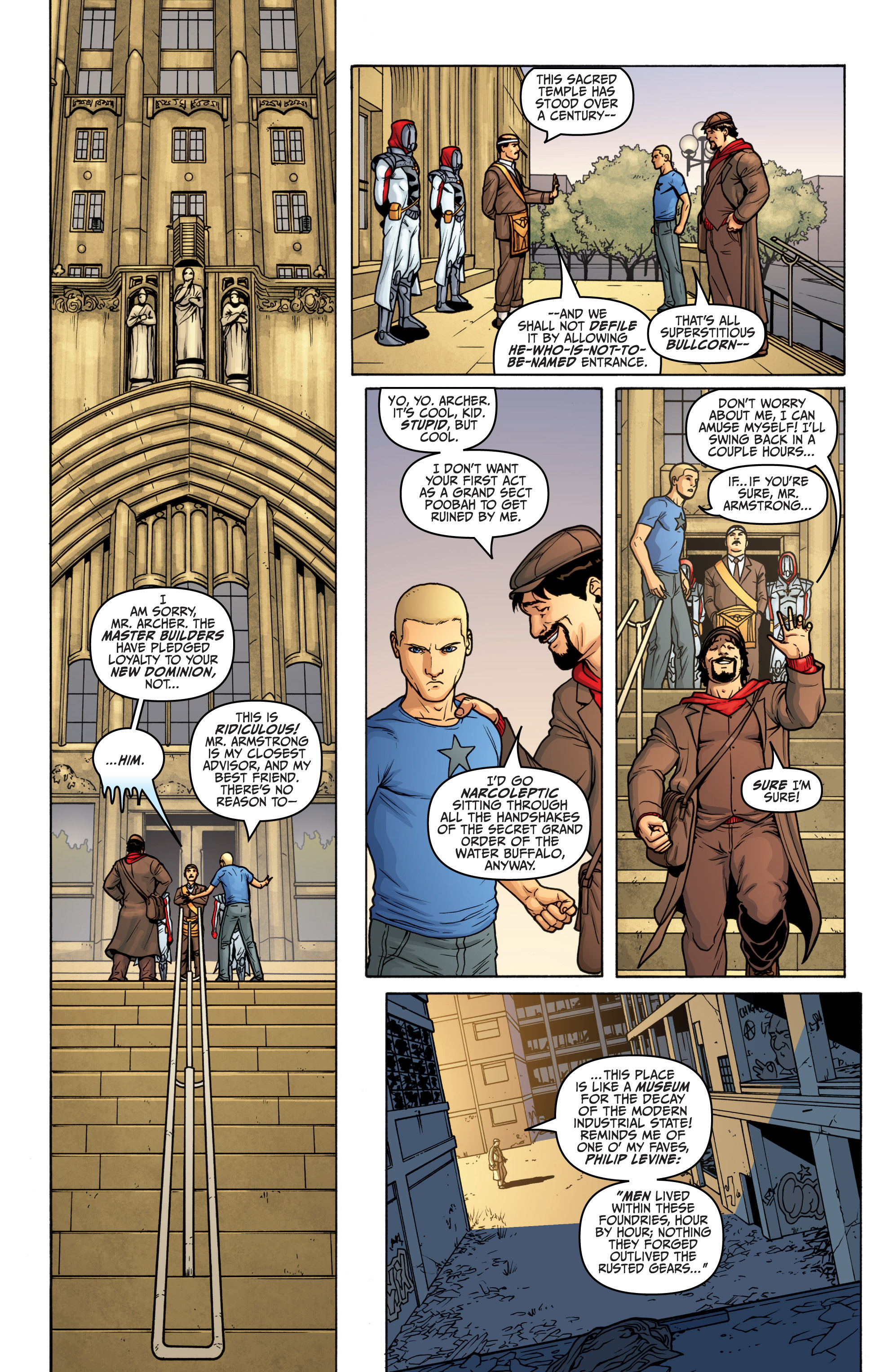 Read online Archer and Armstrong comic -  Issue #Archer and Armstrong _TPB 5 - 38