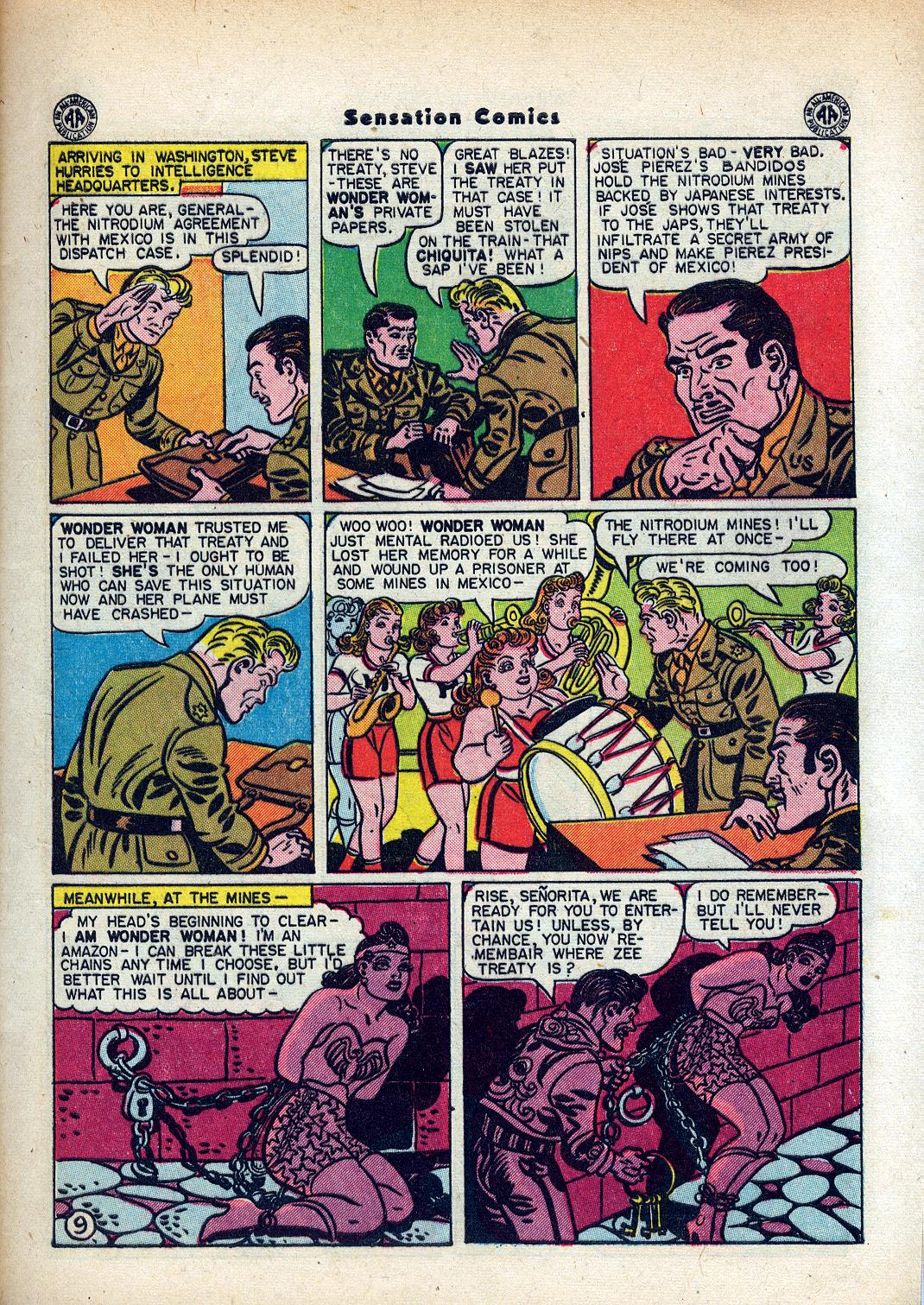 Read online Sensation (Mystery) Comics comic -  Issue #45 - 11