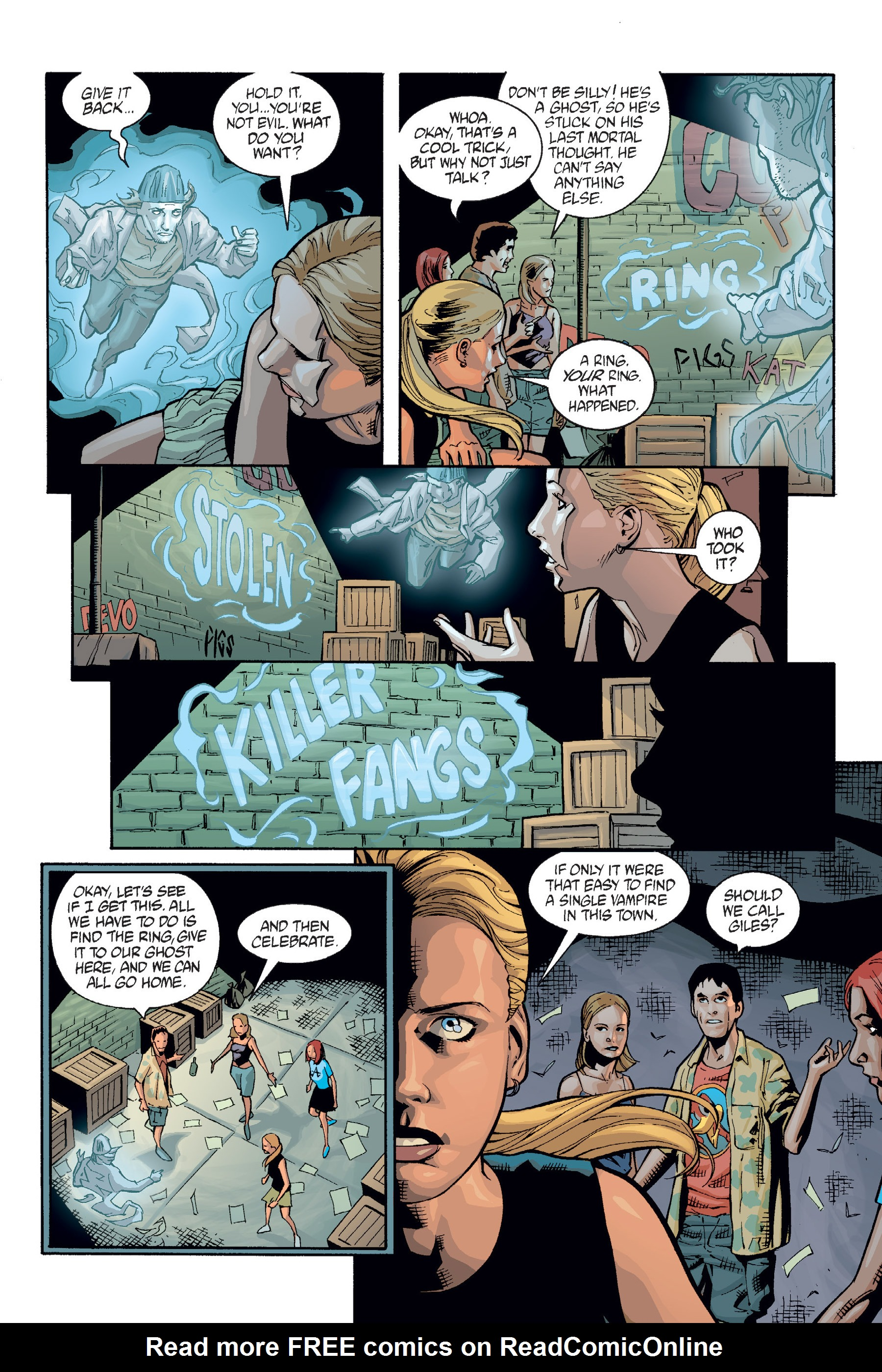 Read online Buffy the Vampire Slayer: Omnibus comic -  Issue # TPB 6 - 197