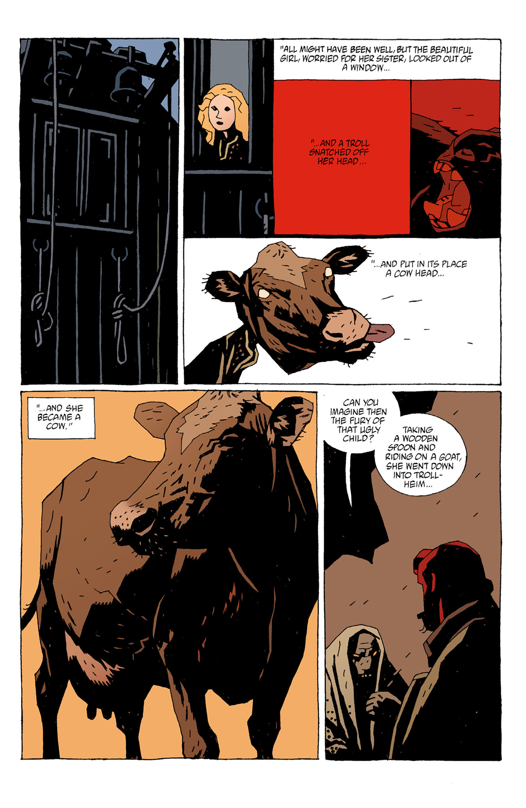 Read online Hellboy: The Troll Witch and Others comic -  Issue # TPB - 31