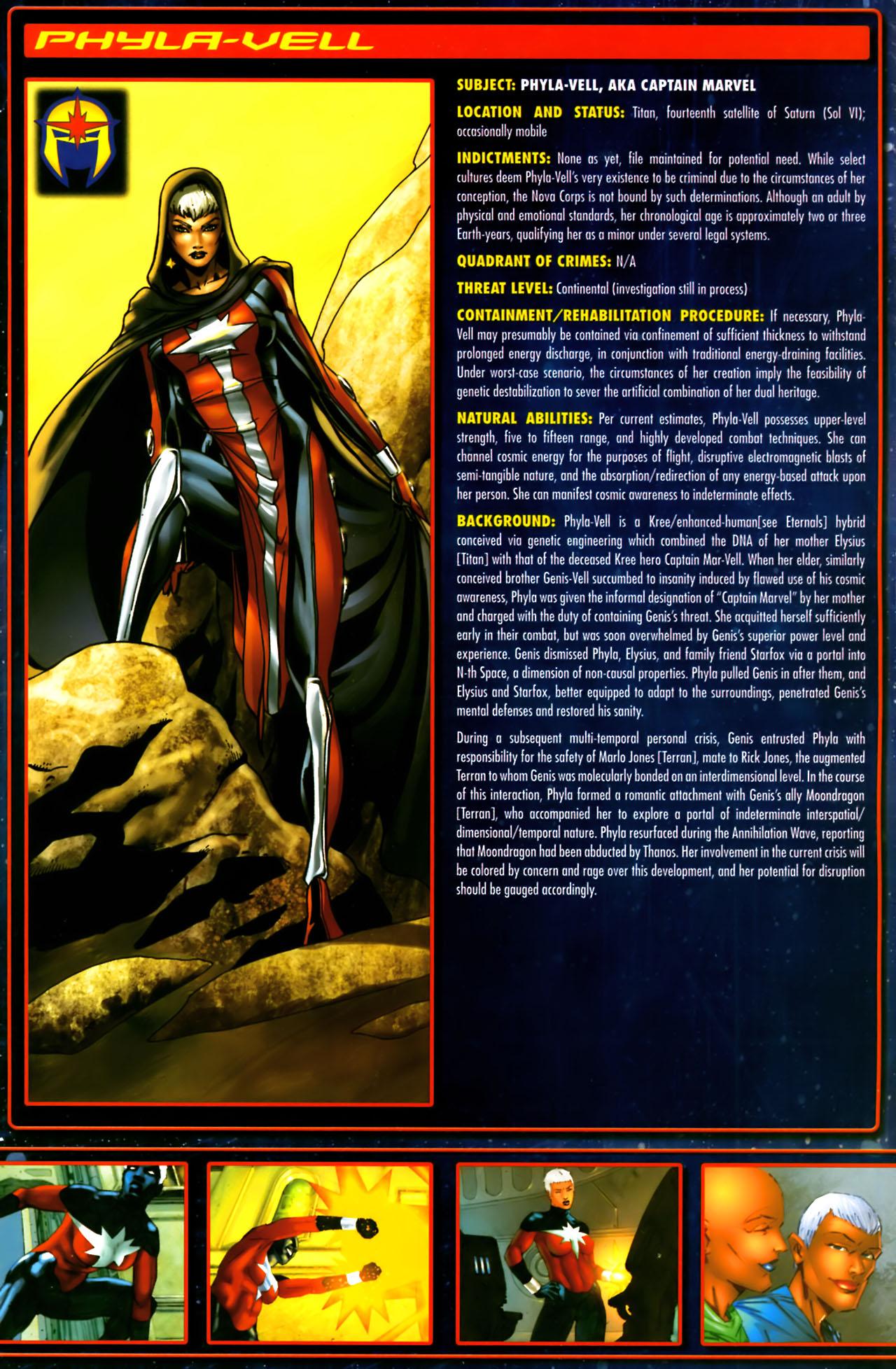 Read online Annihilation:  The  Nova Corps Files comic -  Issue #Annihilation:  The  Nova Corps Files Full - 27