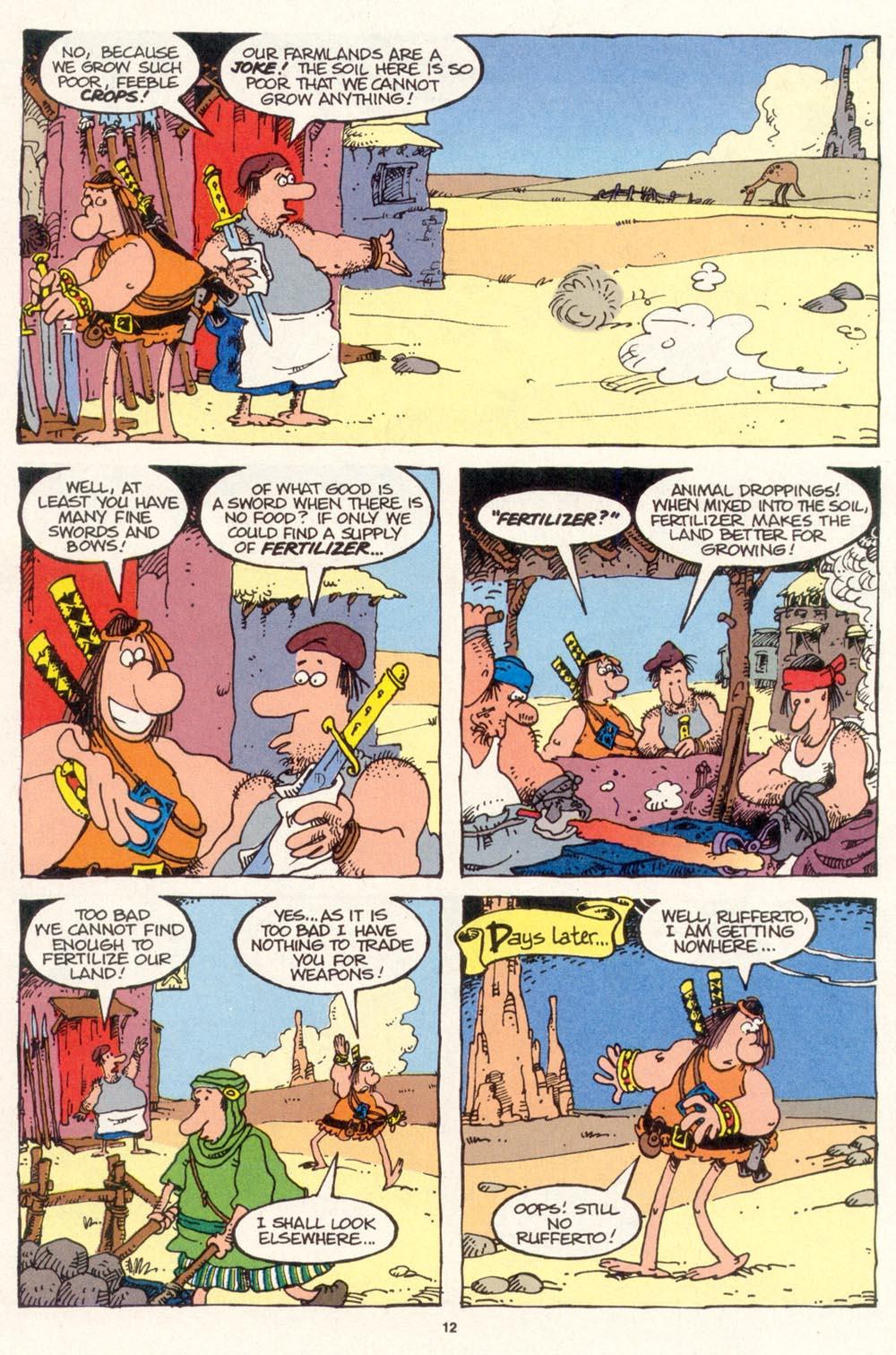 Read online Sergio Aragonés Groo the Wanderer comic -  Issue #115 - 14