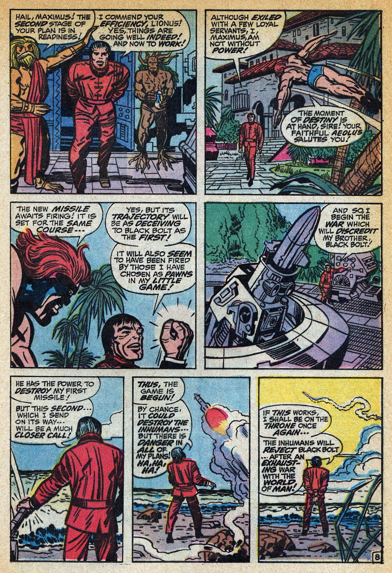 Read online Amazing Adventures (1970) comic -  Issue #1 - 13
