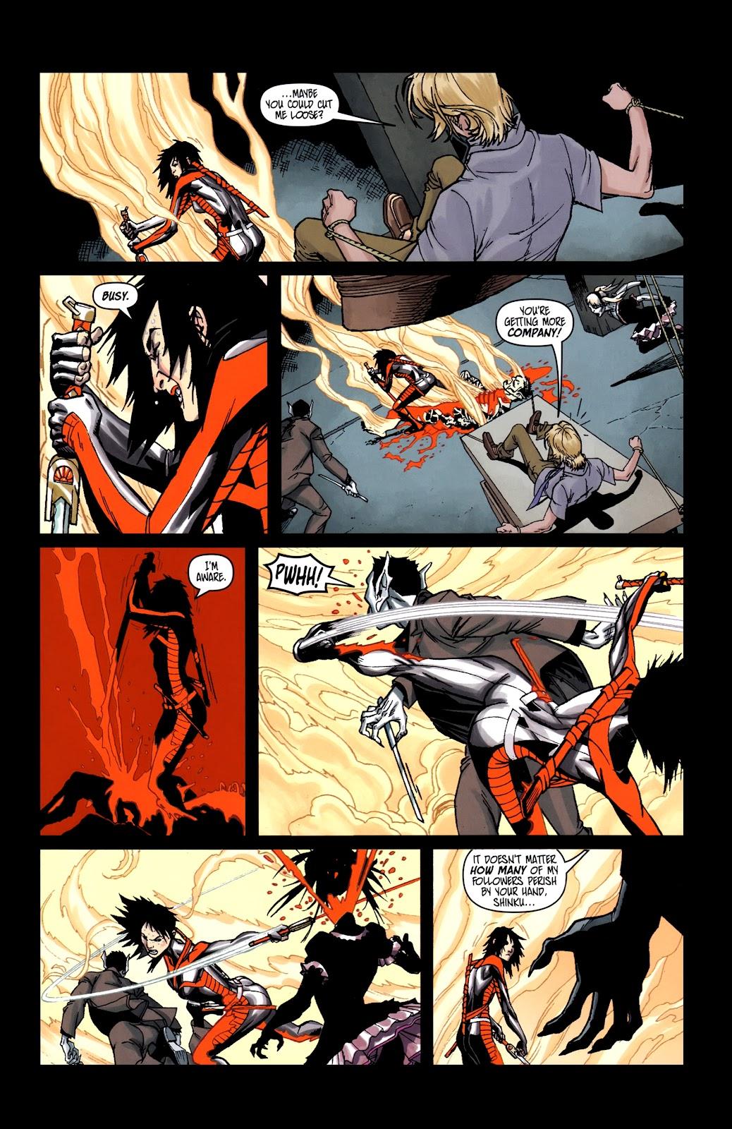 Read online Shinku comic -  Issue #5 - 16