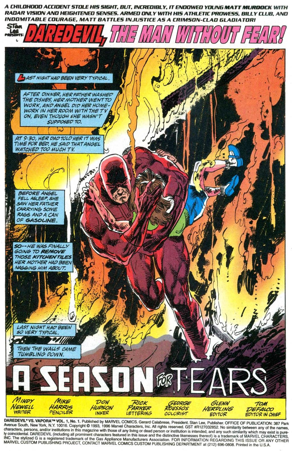 Read online Daredevil vs. Vapora comic -  Issue # Full - 3