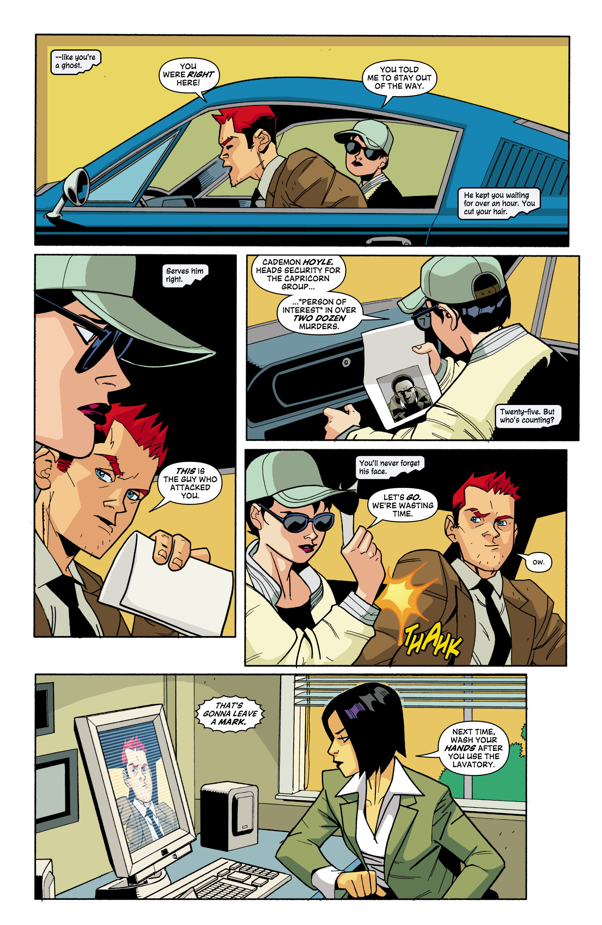 Read online Red Herring comic -  Issue #3 - 5