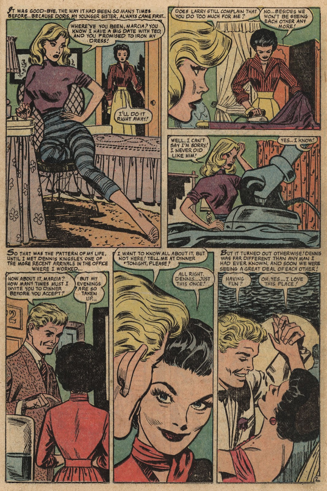 Love Romances (1949) issue 66 - Page 11